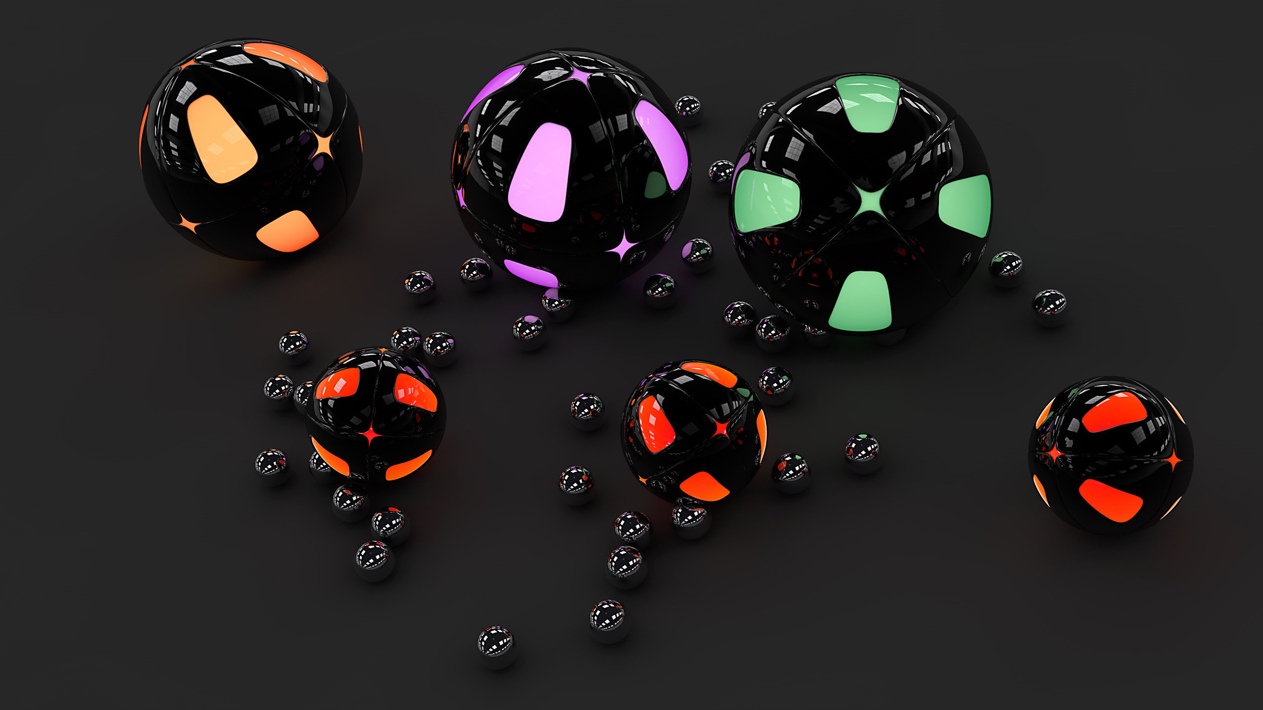 High resolution Ball hd 2560x1440 background ID:27045 for desktop