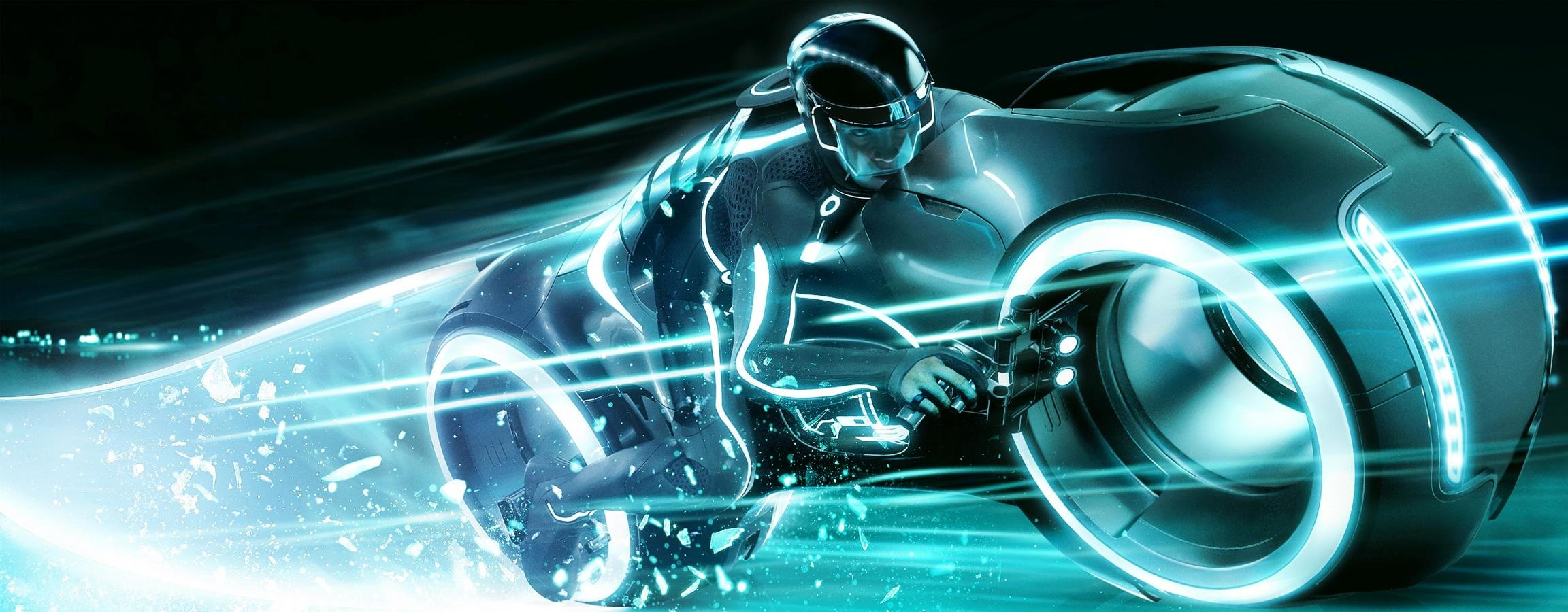 Best TRON: Legacy wallpaper ID:379595 for High Resolution dual screen 2304x900 PC