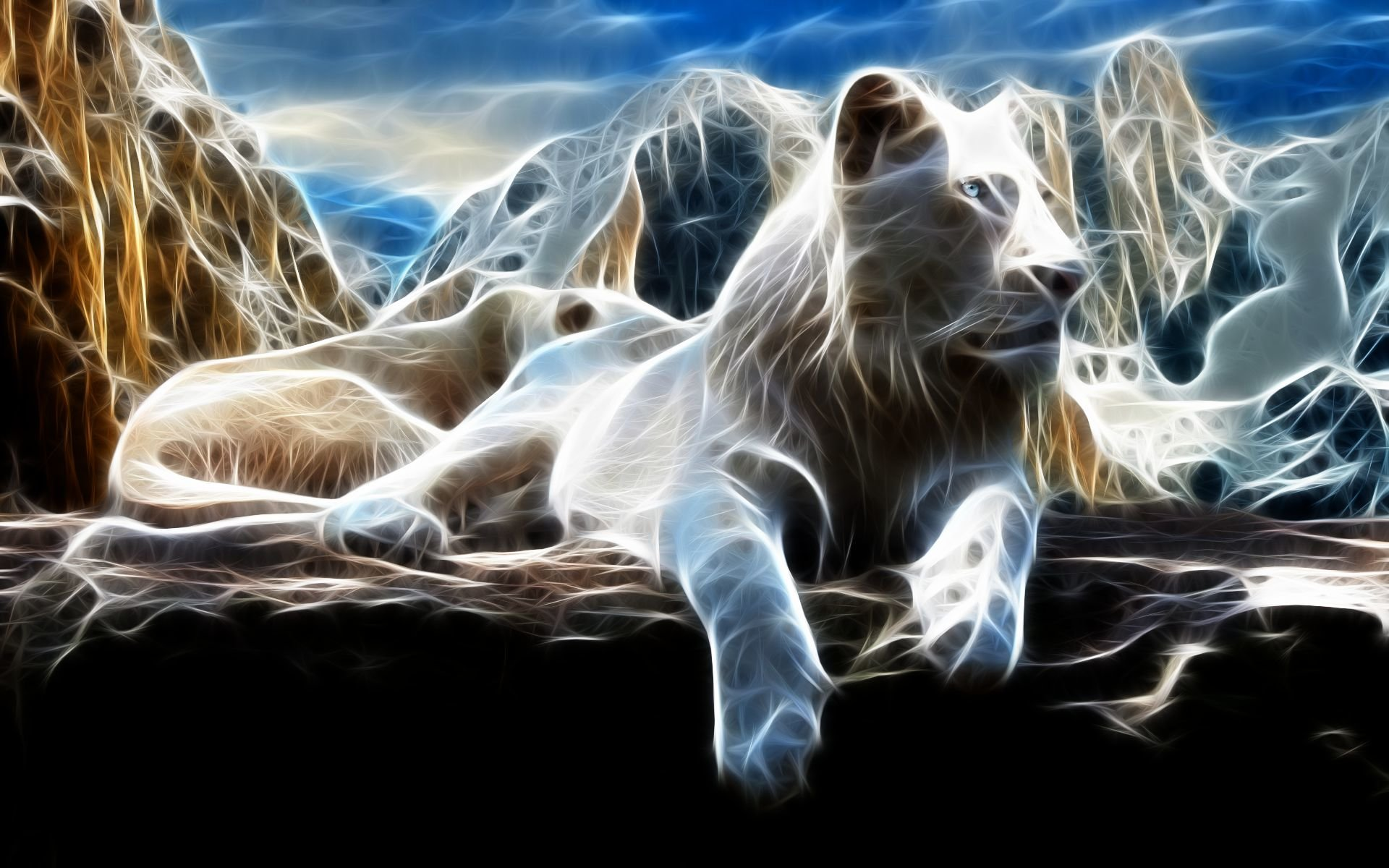 Free Download White Lion Wallpaper ID237720 Hd 1920x1200 For Desktop