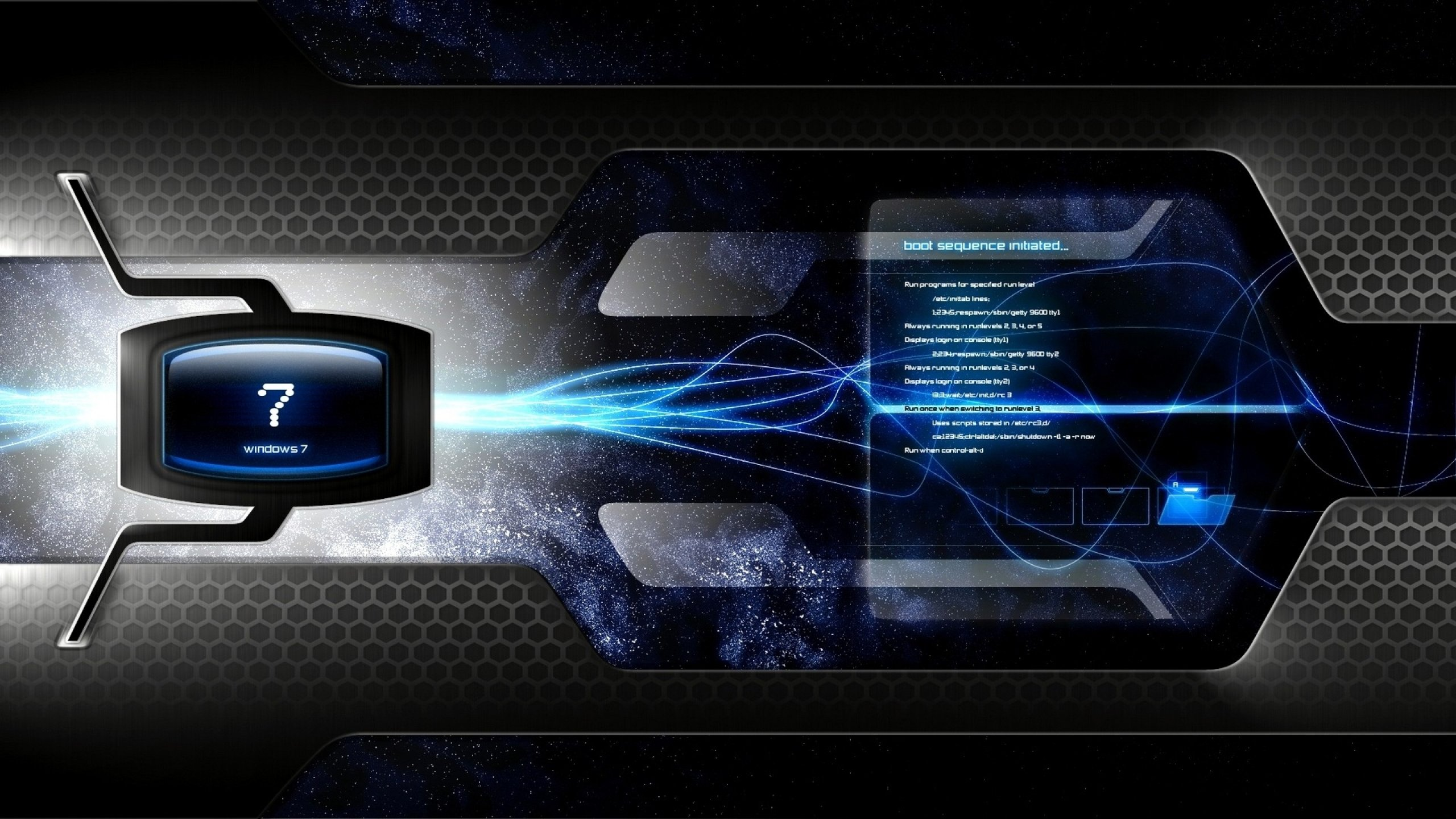 Download hd 2560x1440 Windows 7 computer background ID:156038 for free