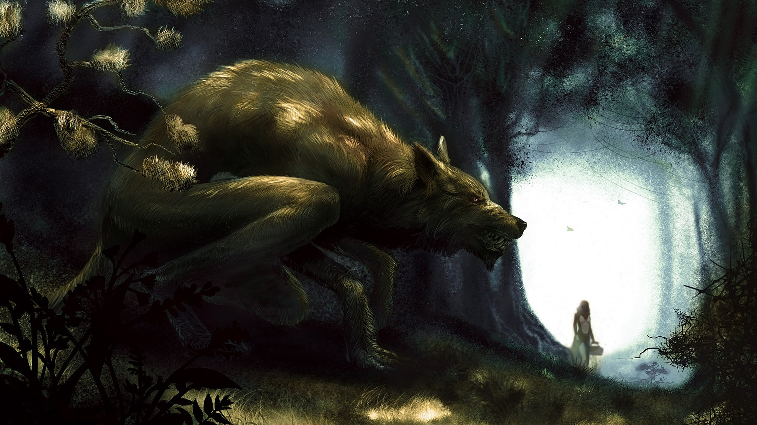 Best Werewolf wallpaper ID:163752 for High Resolution hd 2560x1440 PC