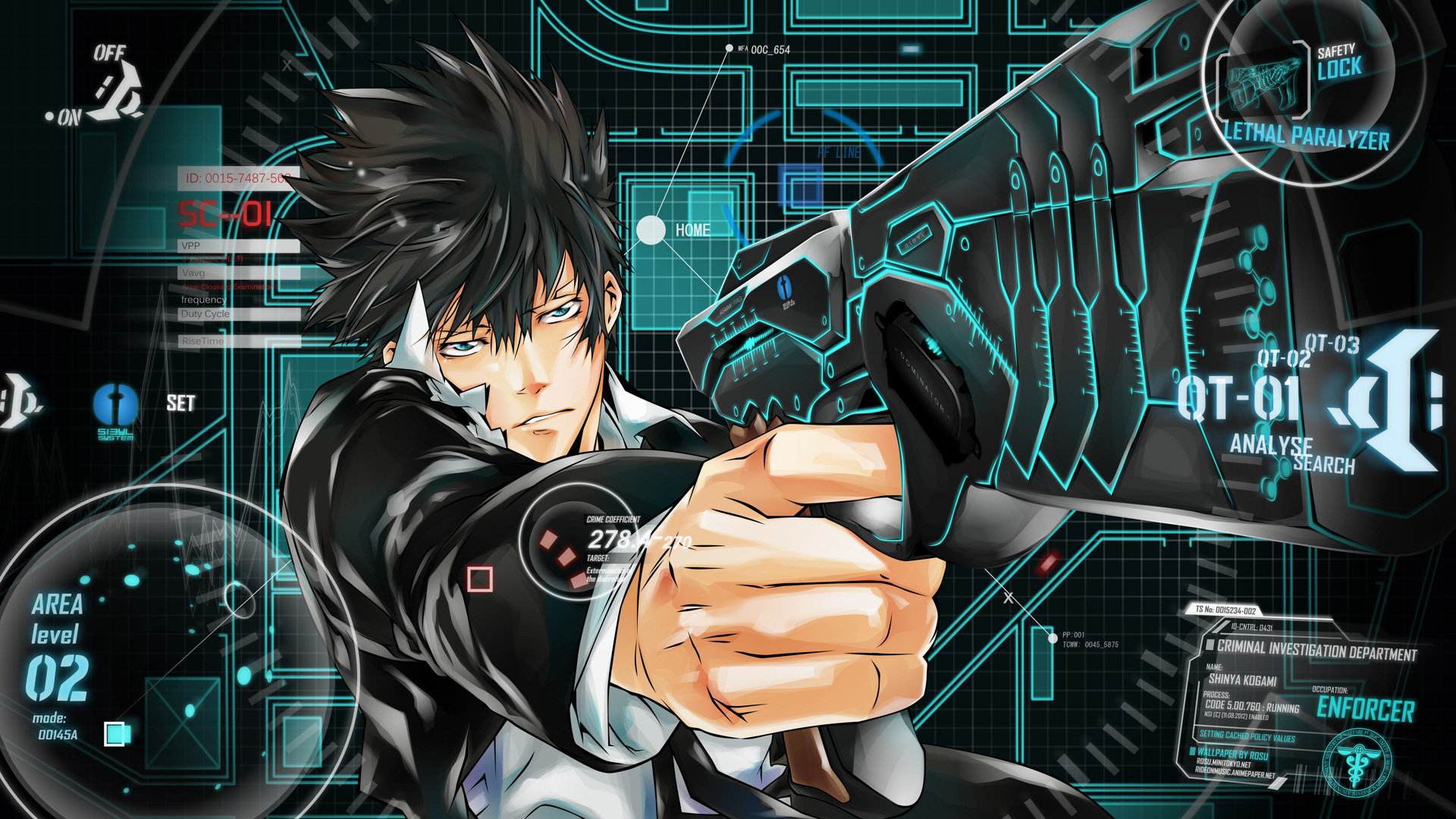 Free download Psycho-Pass wallpaper ID:451824 full hd 1920x1080 for PC