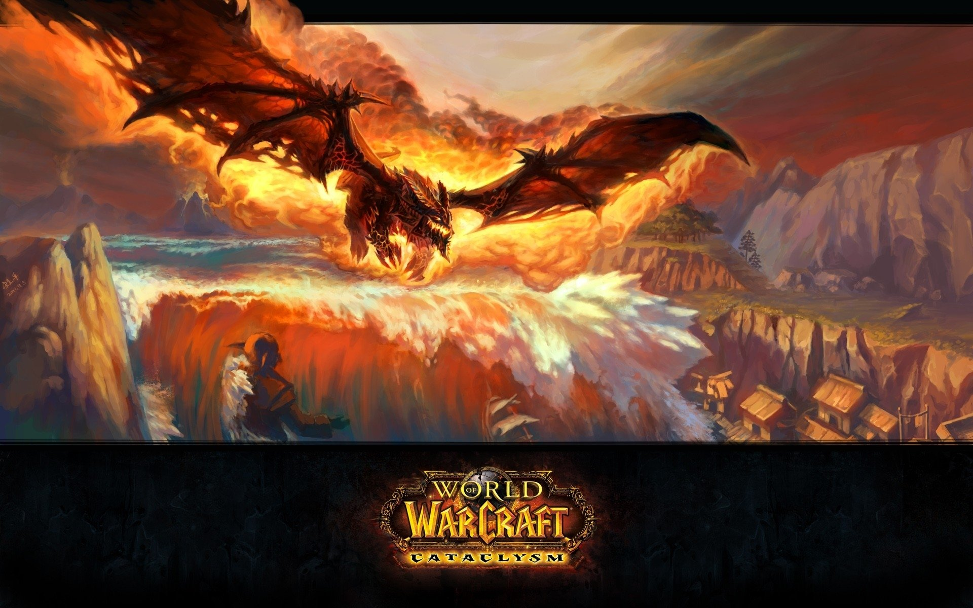 Awesome World Of Warcraft Cataclysm Free Wallpaper Id62548