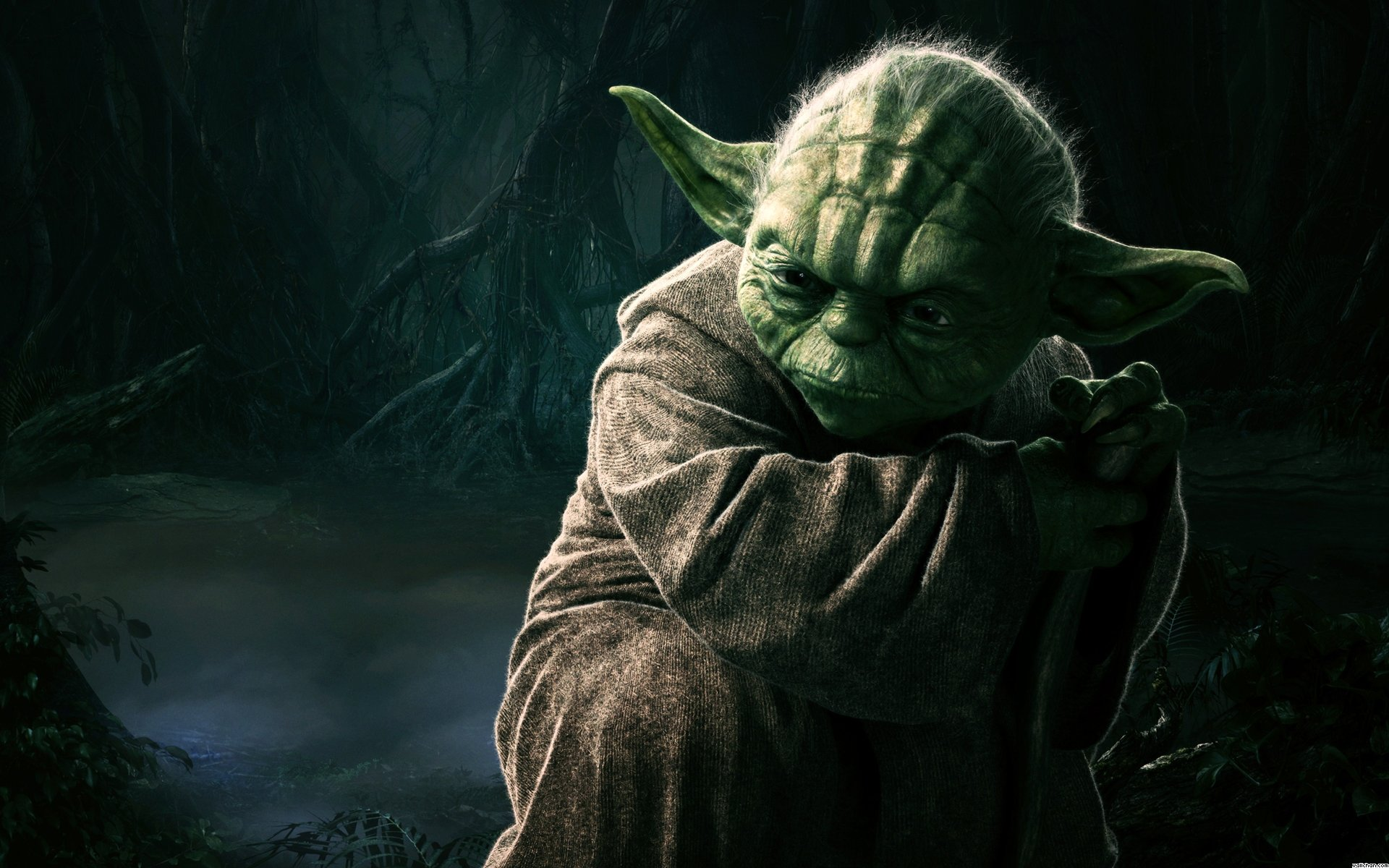 Free Yoda high quality background ID:460120 for hd 1920x1200 PC