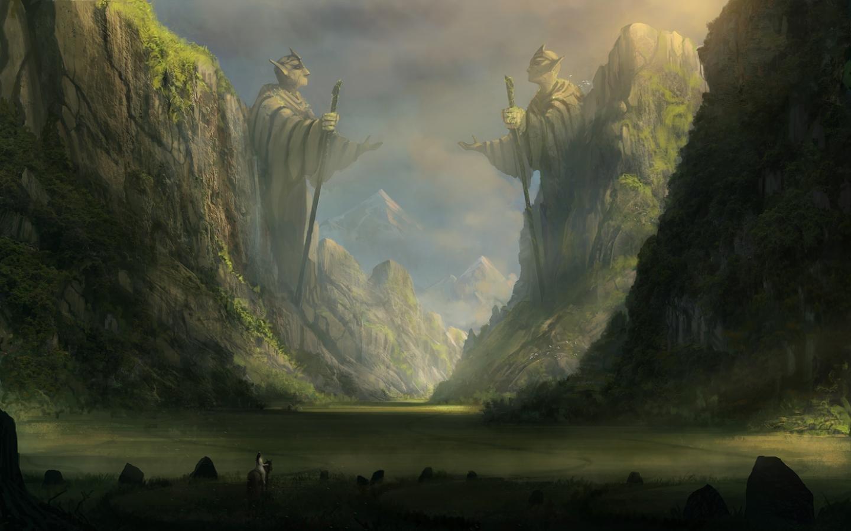 Download Hd 1440x900 Fantasy Landscape Computer Wallpaper Id