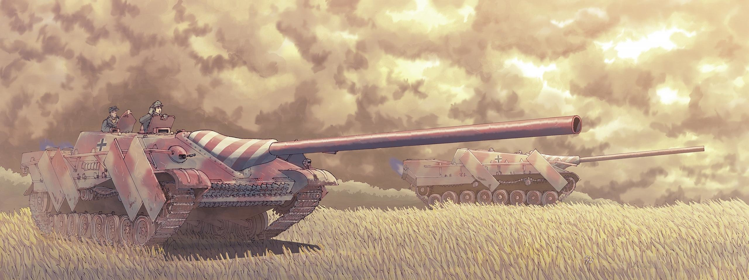 Free Tank high quality wallpaper ID:461279 for dual monitor 2560x960 PC