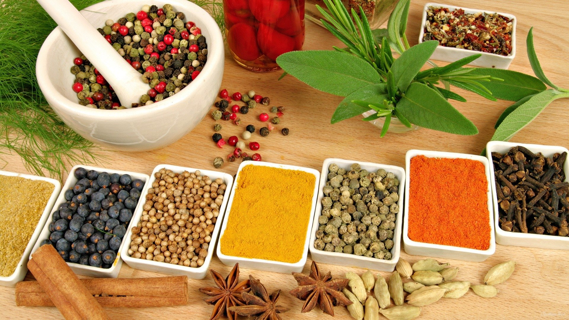 Download 1080p Herbs And Spices computer wallpaper ID:410404 for free