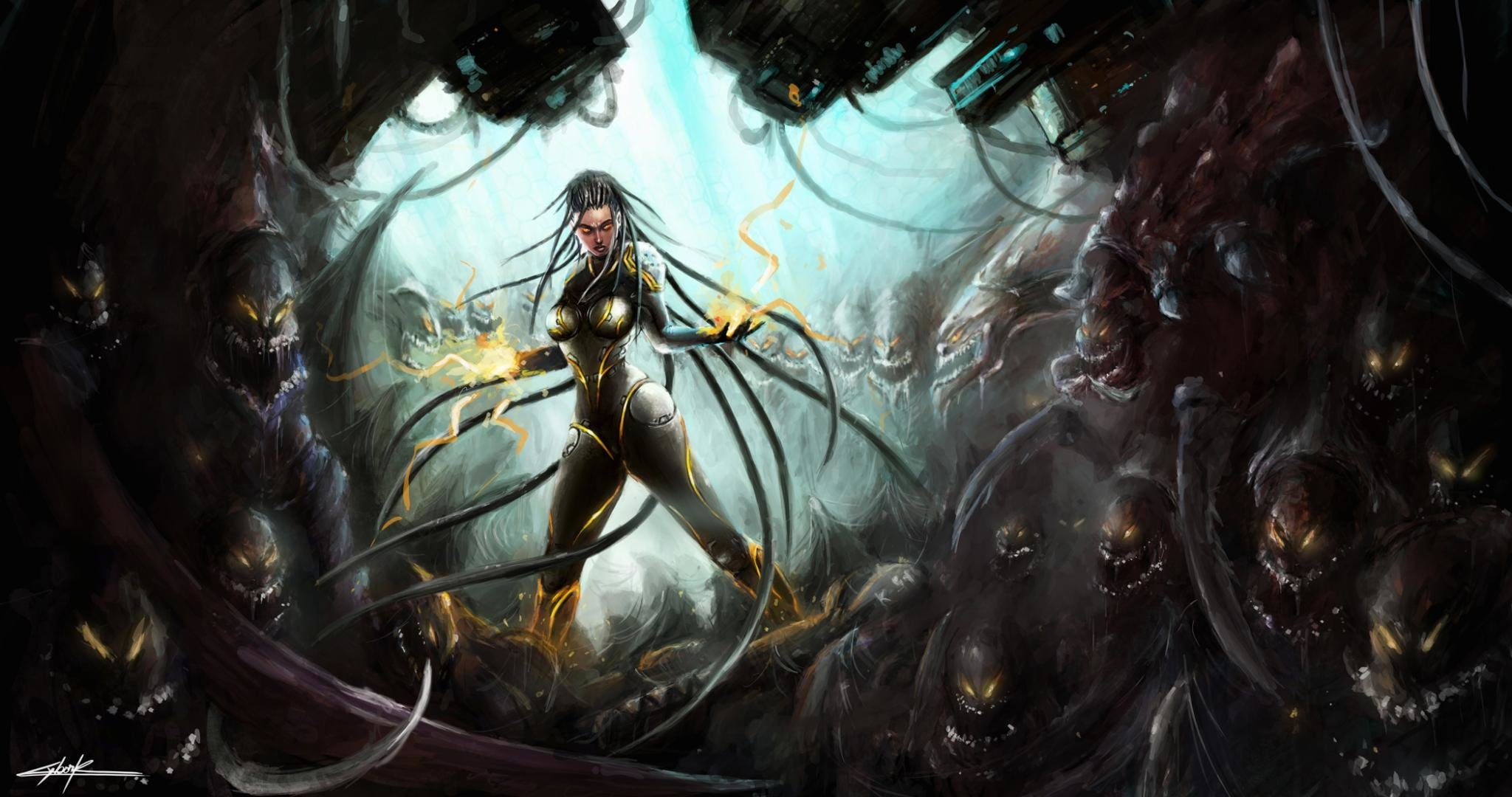 Awesome Starcraft 2 Heart Of The Swarm Free Wallpaper Id