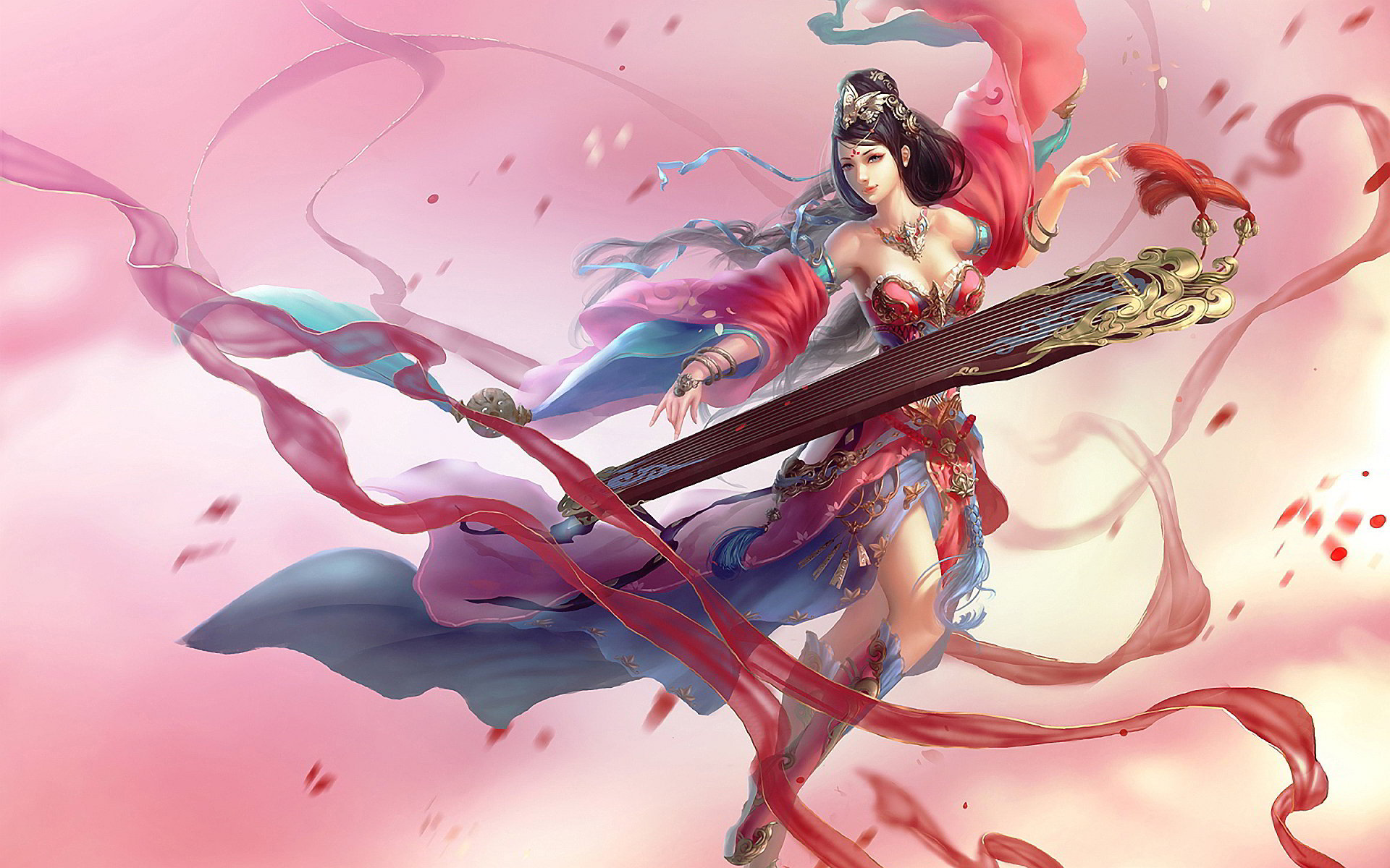 High Resolution Sona League Of Legends Hd 1920x1200 Background ID171652 For Desktop
