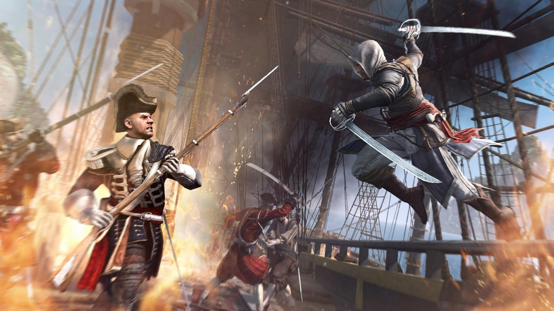 Awesome Assassin's Creed 4: Black Flag free wallpaper ID:234623 for 1080p PC