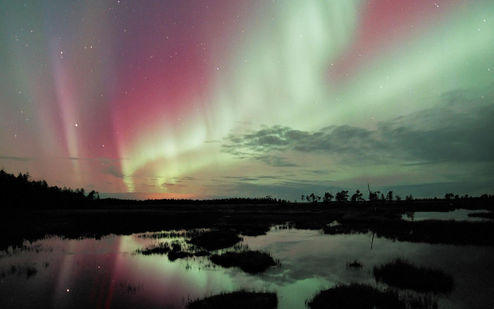 high resolution aurora borealis hd 1680x1050 wallpaper id:283483 for