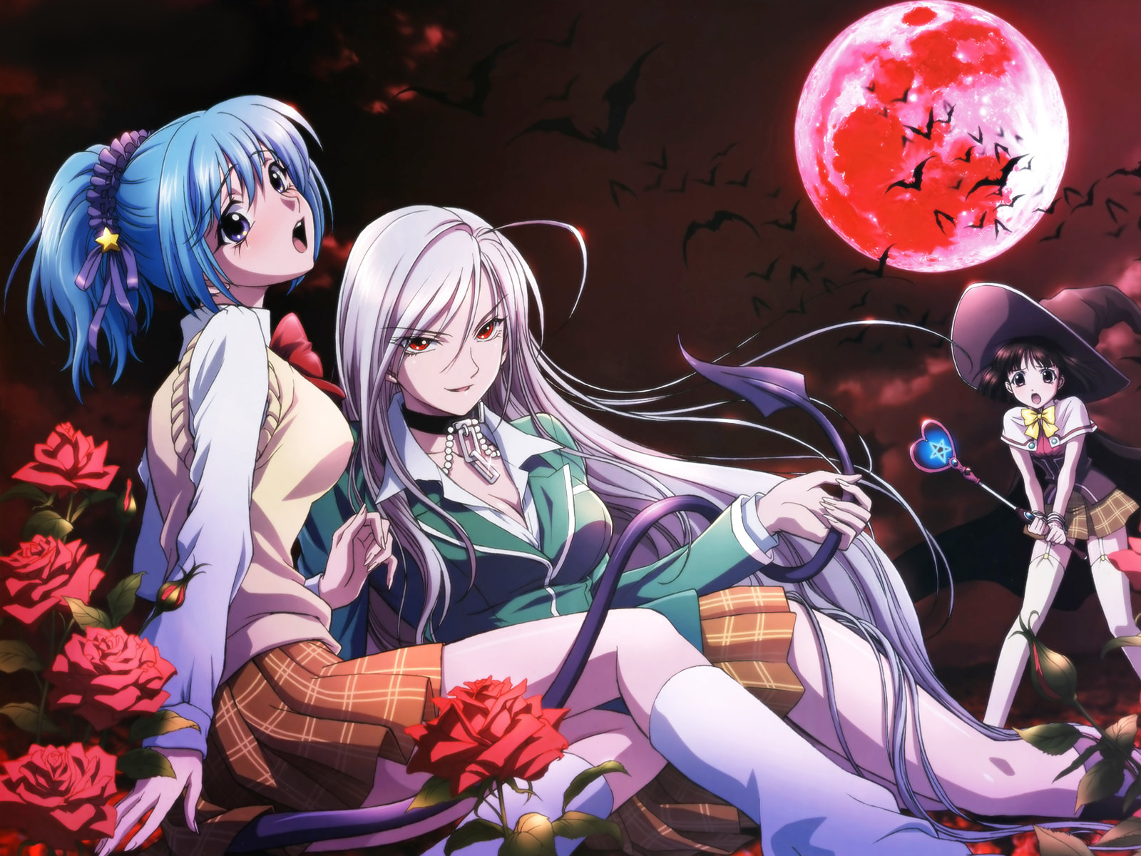 Free download Rosario + Vampire wallpaper ID:164621 hd 1600x1200 for desktop