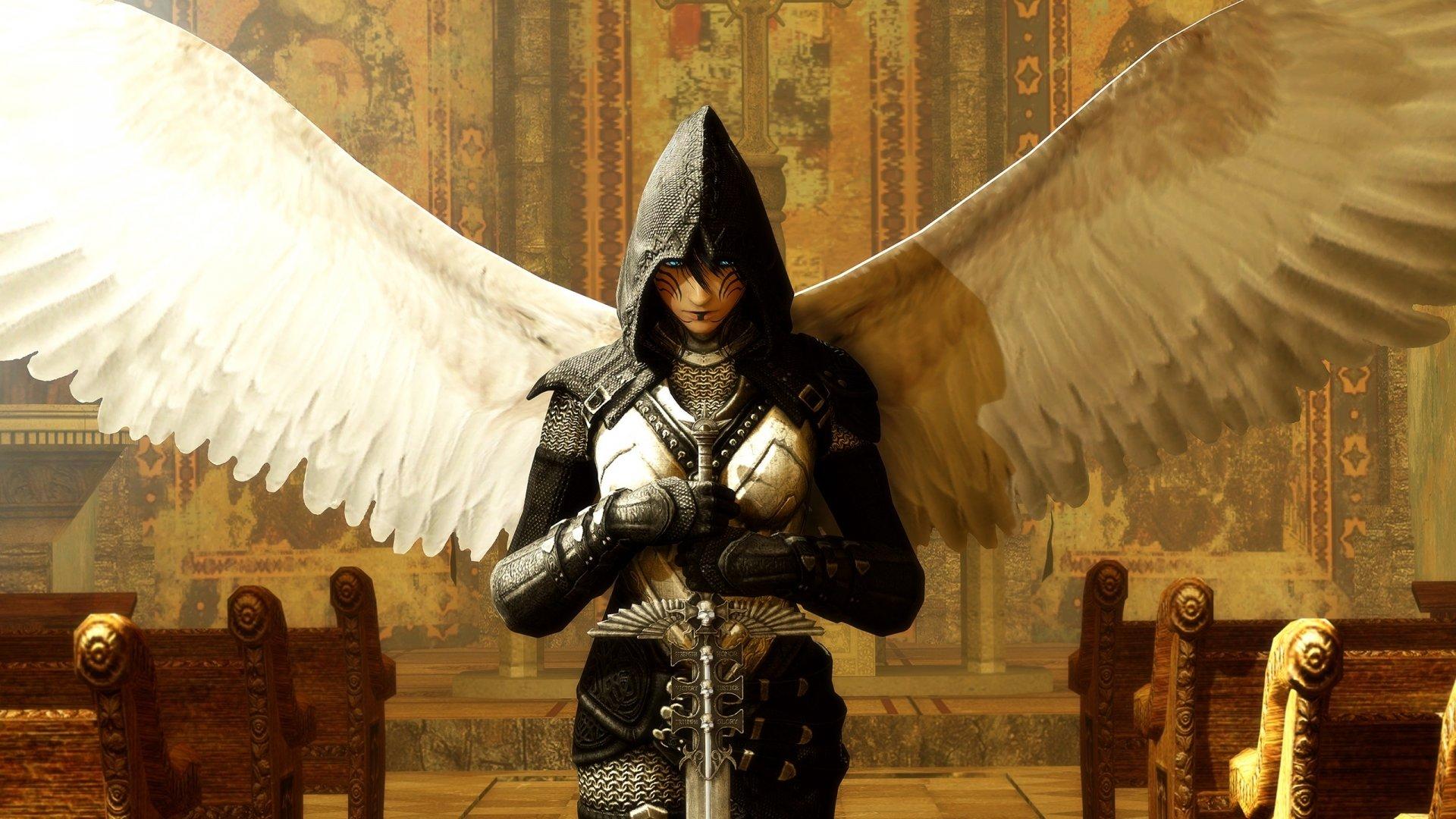 download full hd 1920x1080 angel warrior desktop background id