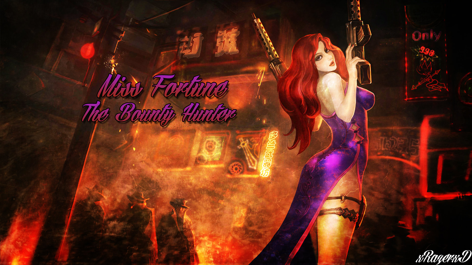 Miss Fortune League Of Legends Wallpapers Hd For Desktop Backgrounds