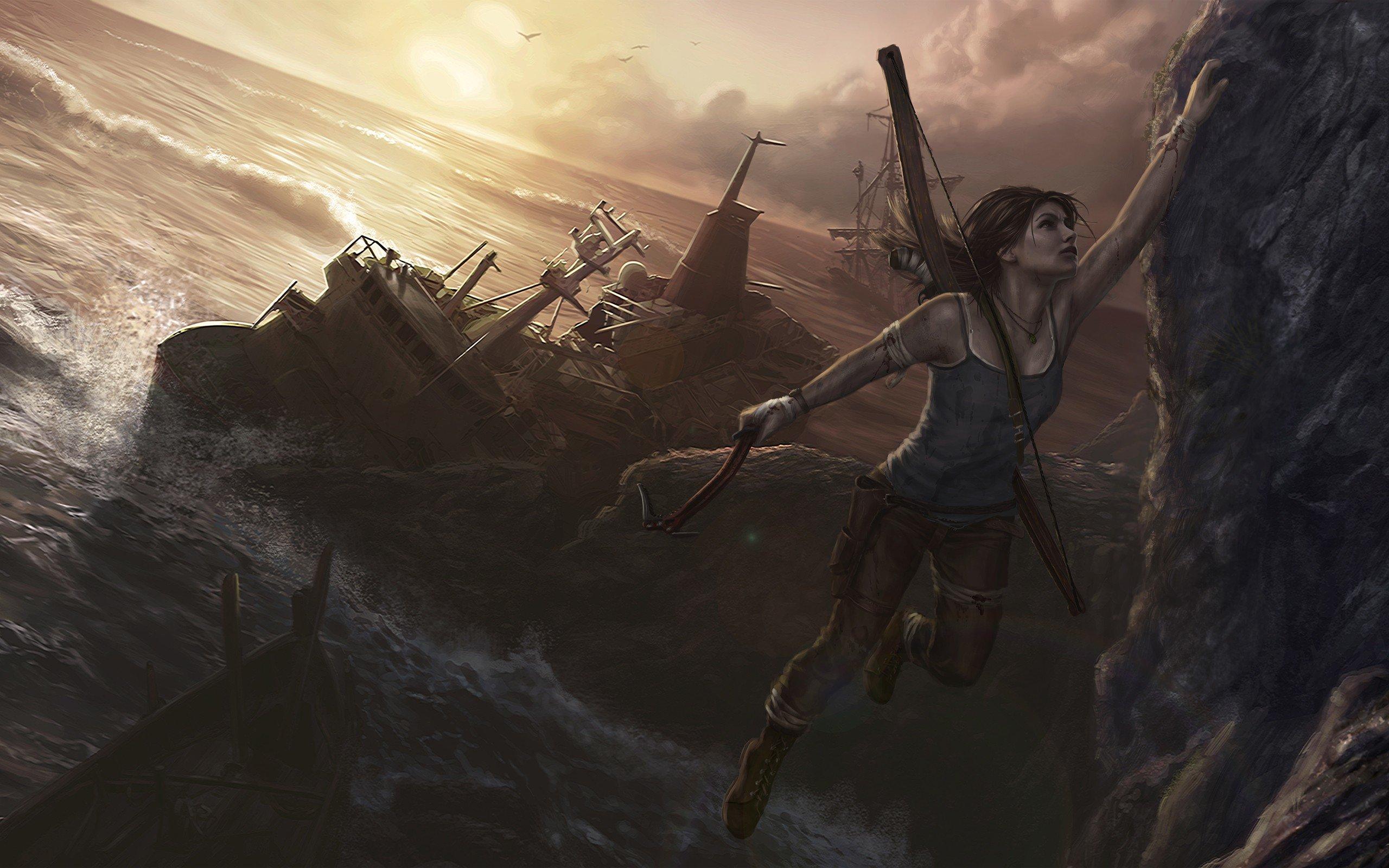 High Resolution Tomb Raider Lara Croft Hd 2560x1600