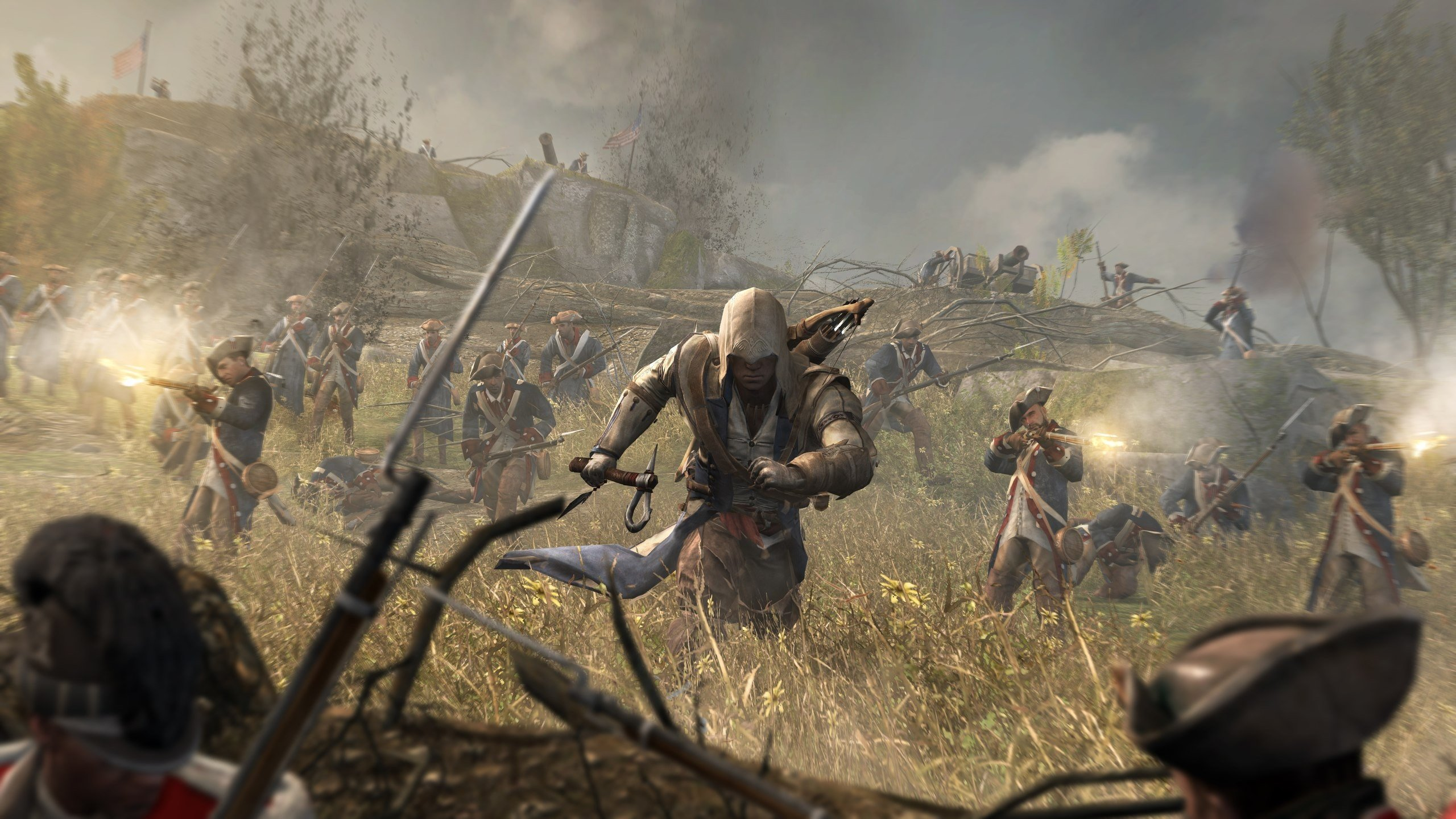 Free Download Assassins Creed 3 Wallpaper ID447307 Hd 2560x1440 For PC