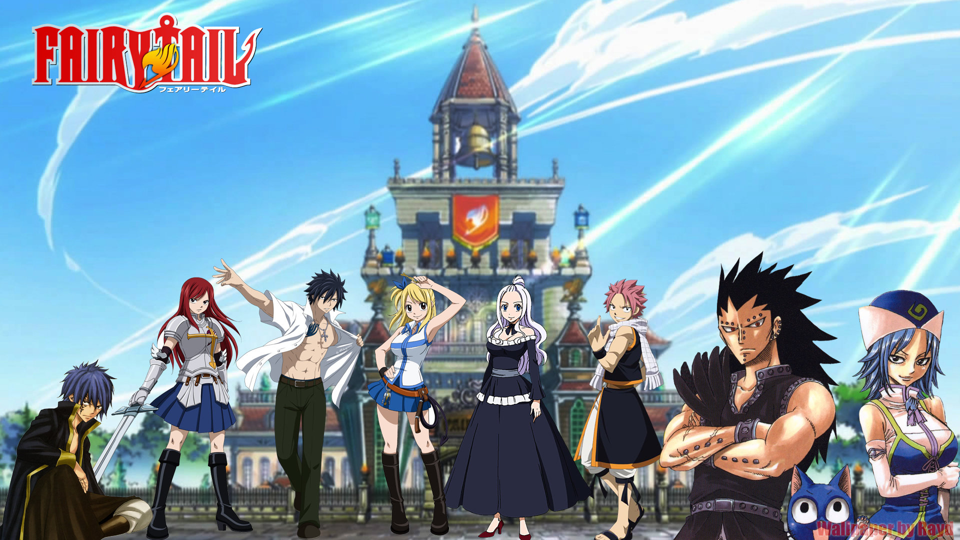 Free download Fairy Tail wallpaper ID:40776 full hd for desktop