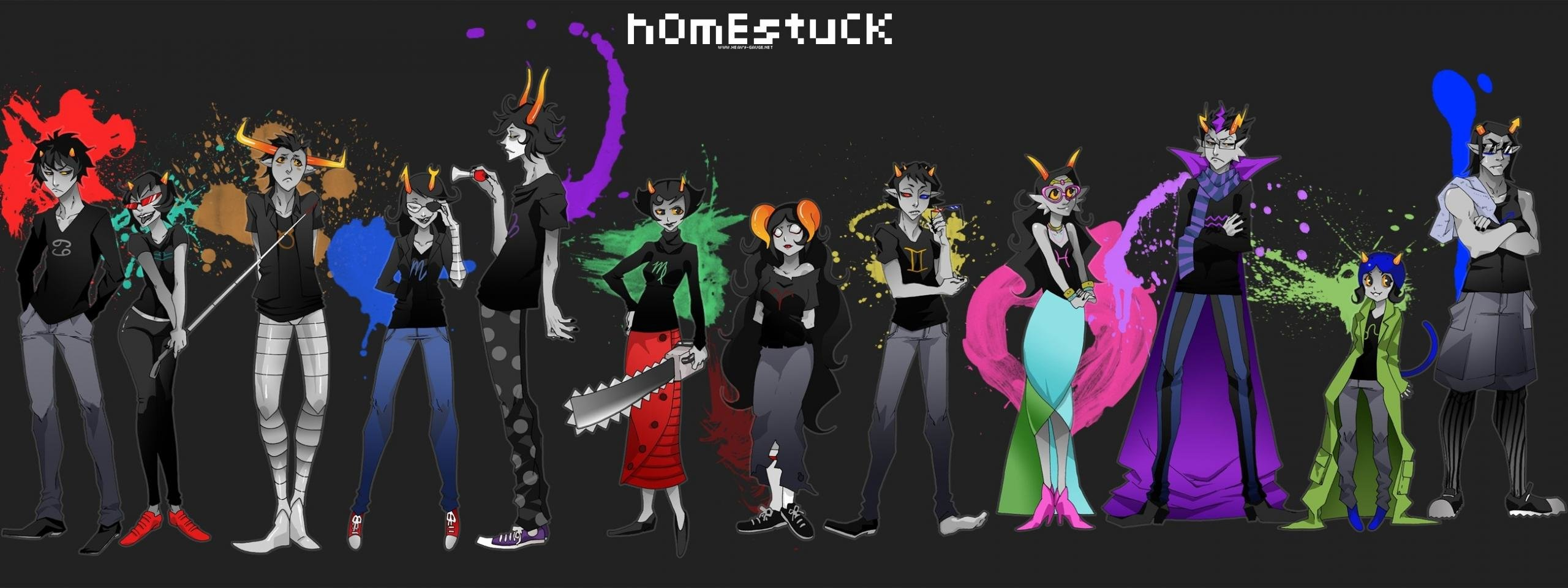 High resolution Homestuck dual screen 2560x960 wallpaper ID:213747 for desktop