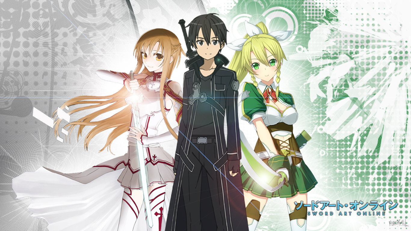 High resolution Sword Art Online (SAO) 1366x768 laptop wallpaper ID:180764 for desktop