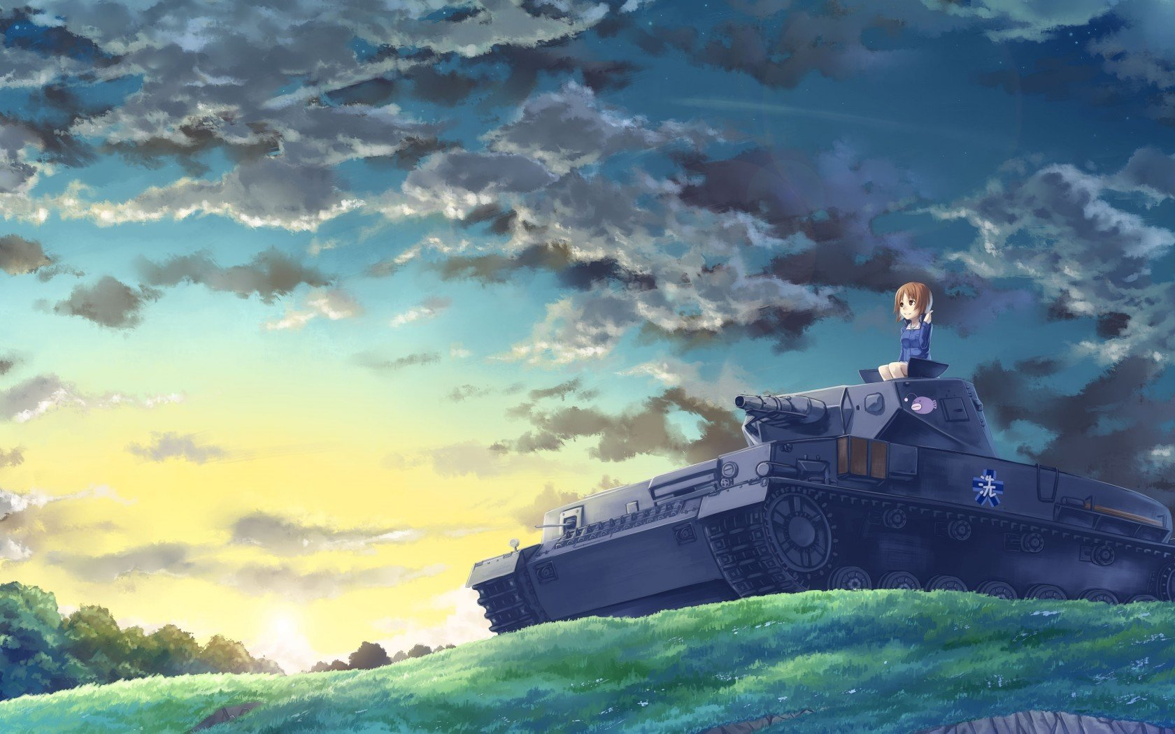 High resolution Girls Und Panzer hd 1680x1050 background ID:208298 for desktop