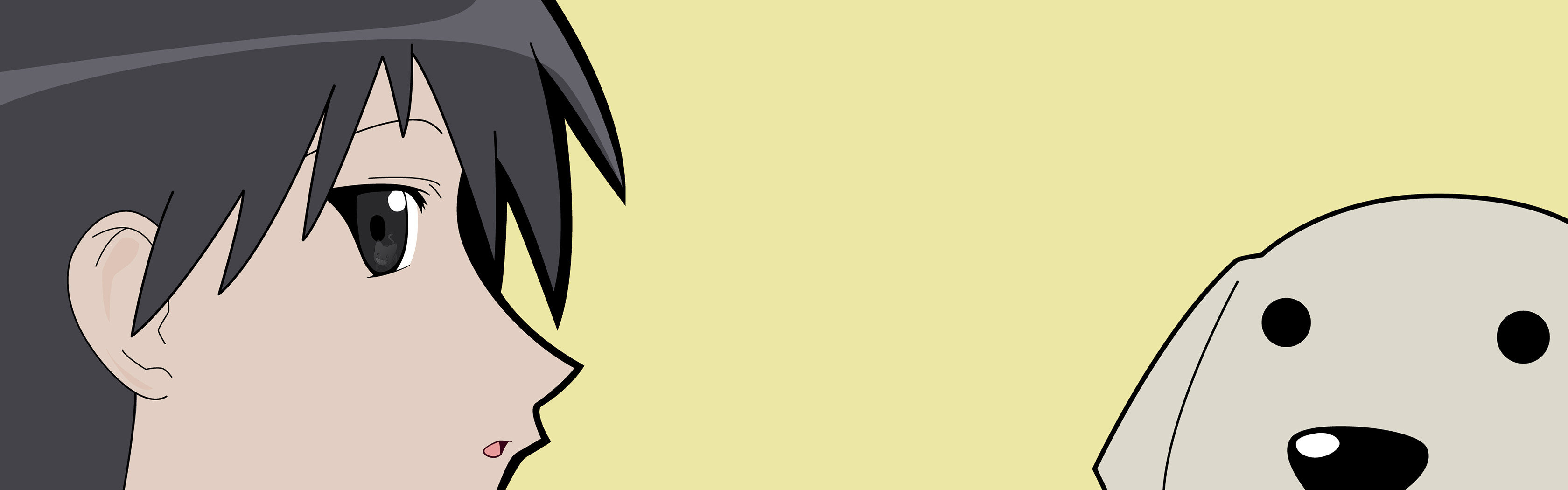 High resolution Azumanga Daioh dual screen 3360x1050 wallpaper ID:374068 for computer