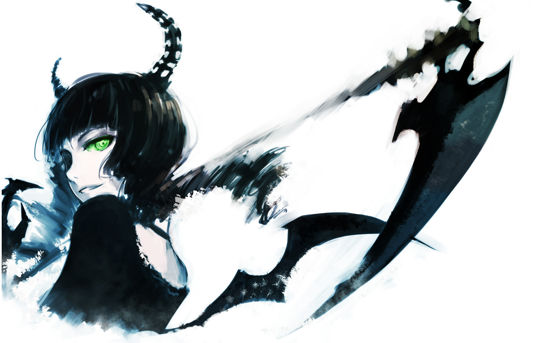 Best Dead Master (Black Rock Shooter) background ID:454653 for High Resolution hd 1920x1200 computer