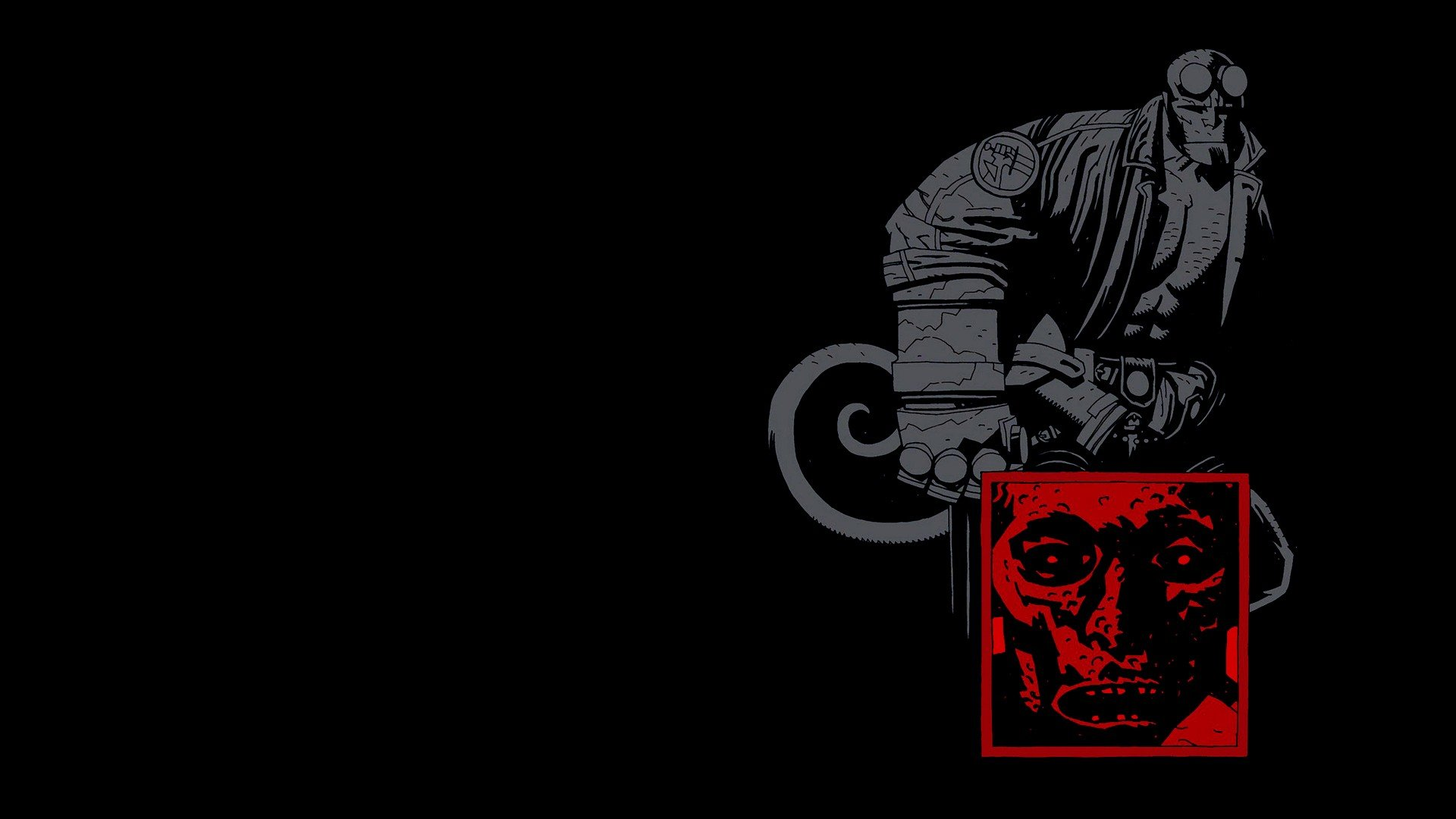 Free Download Hellboy Background Id 397643 Full Hd 1080p For Computer
