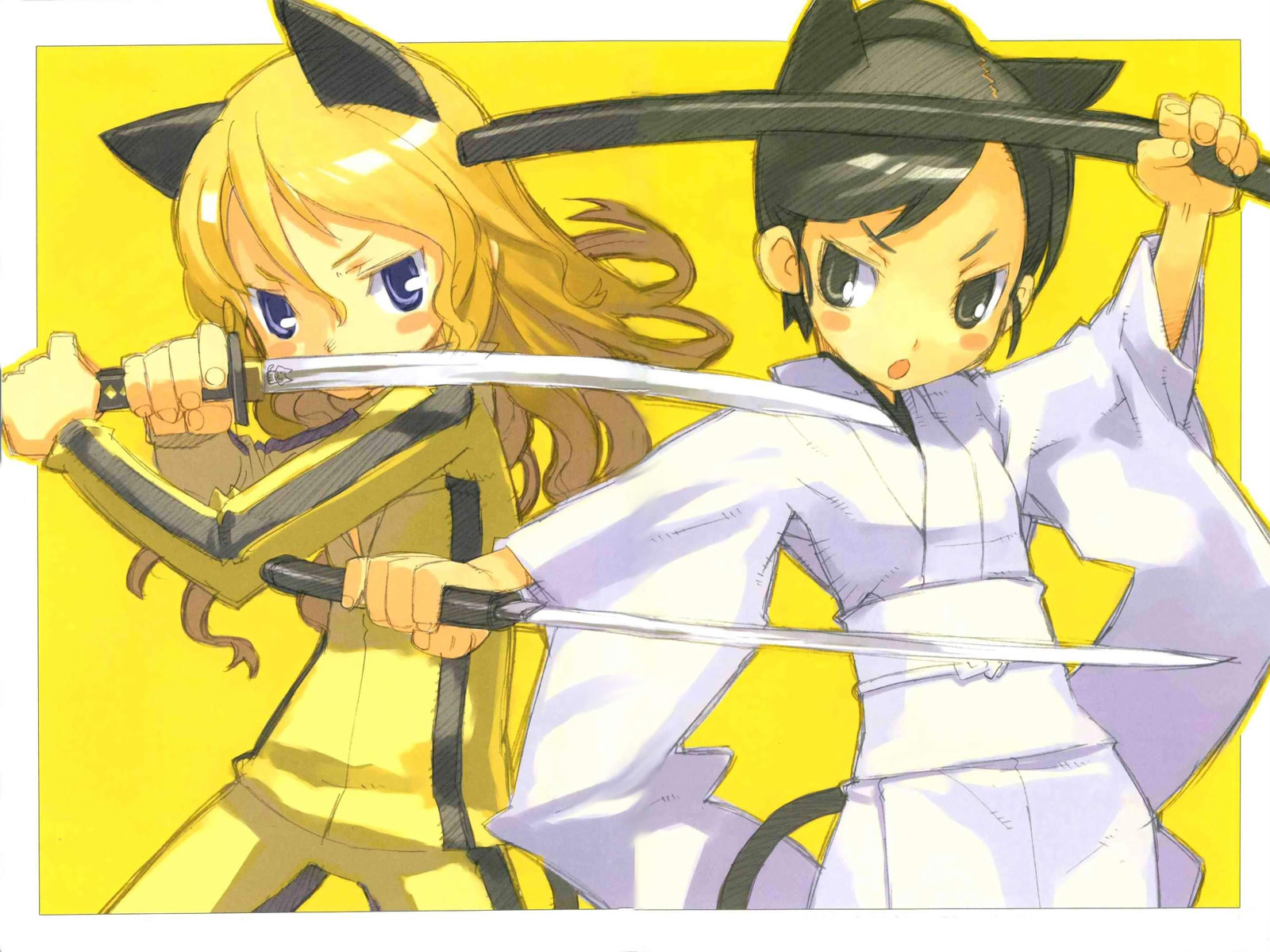Free Kill Bill anime high quality background ID:160081 for hd 1600x1200 PC