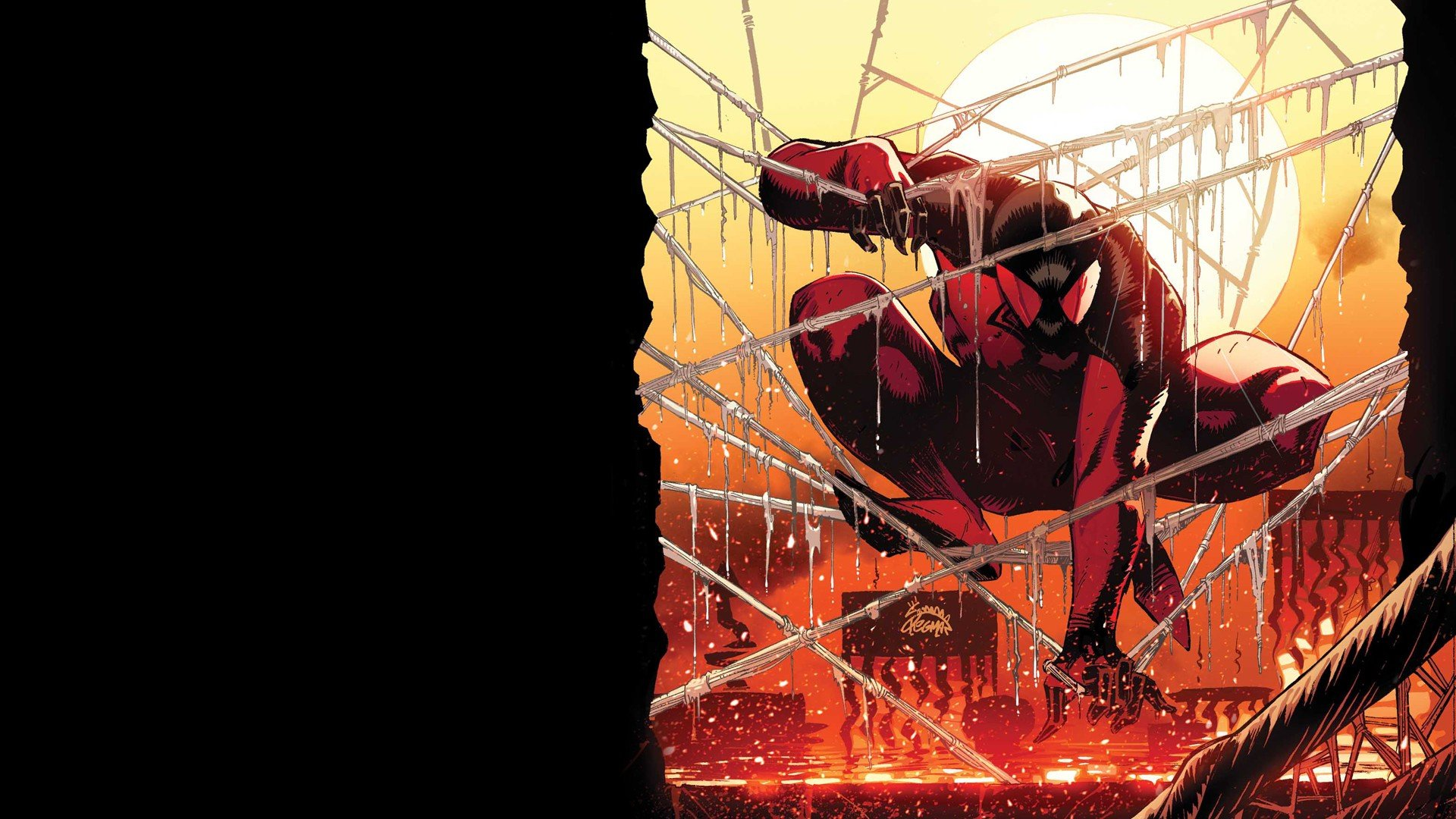 Download hd 1920x1080 Scarlet Spider PC background ID:245760 for free