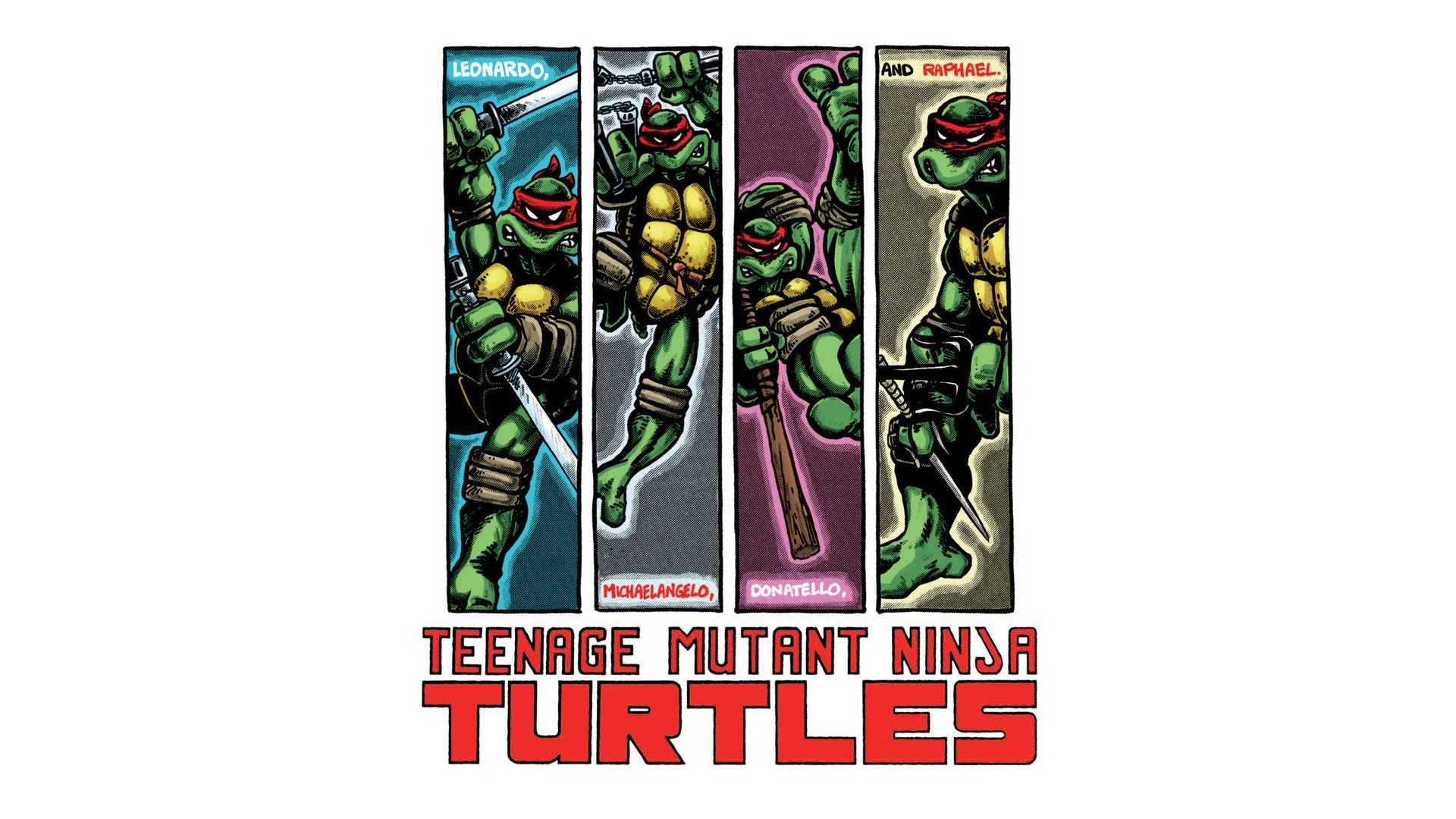 Free download Teenage Mutant Ninja Turtles (TMNT) background ID:111280 hd 1920x1080 for desktop