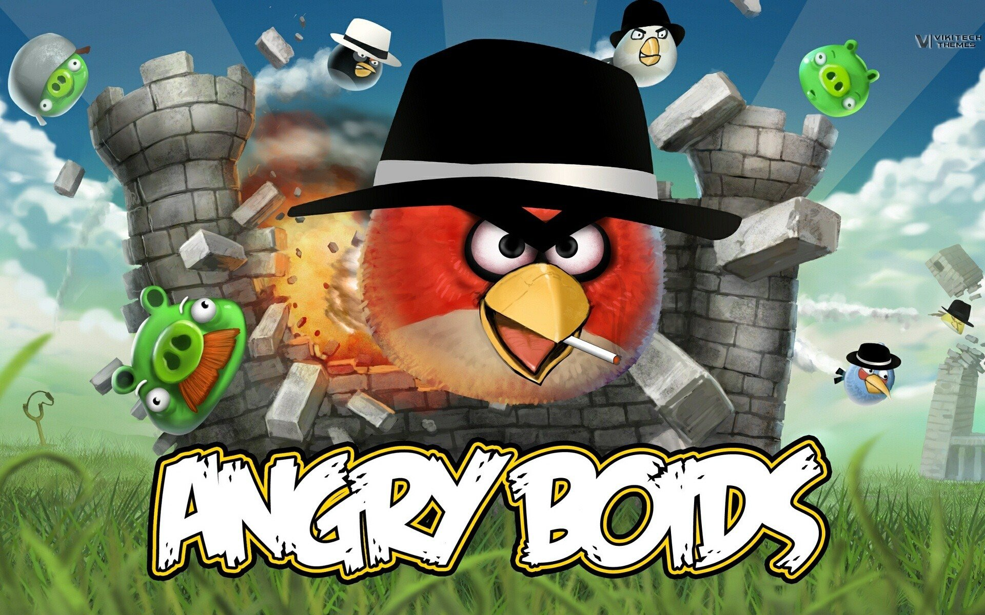 Awesome Angry Birds Free Background ID256708 For Hd 1920x1200 PC