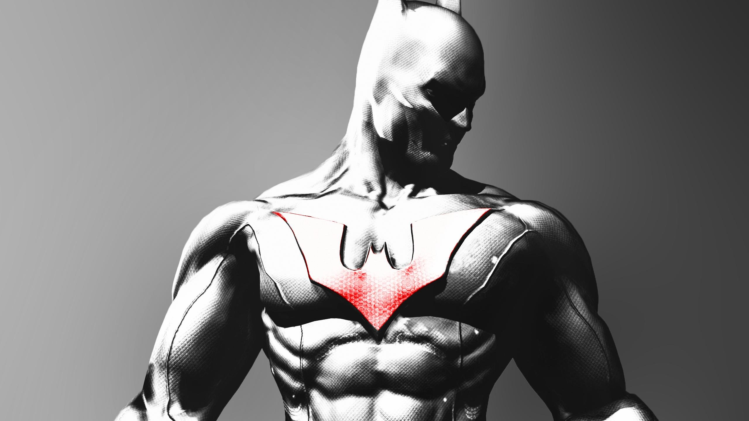 High Resolution Batman Beyond Hd 2560x1440 Wallpaper Id421036 For Pc