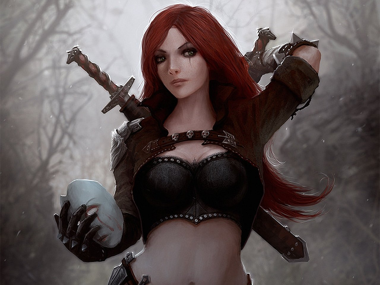 Free Katarina (League Of Legends) high quality background ID:170887 for hd 1280x960 PC
