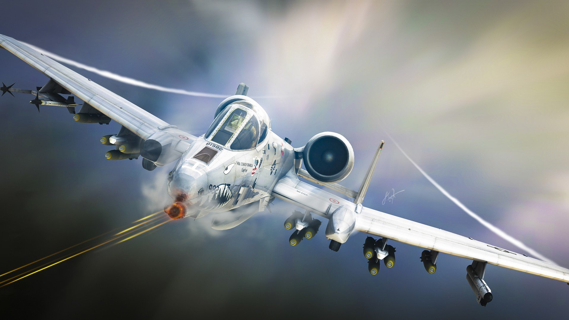 Free Fairchild Republic A-10 Thunderbolt II high quality background ID:325031 for 1080p PC