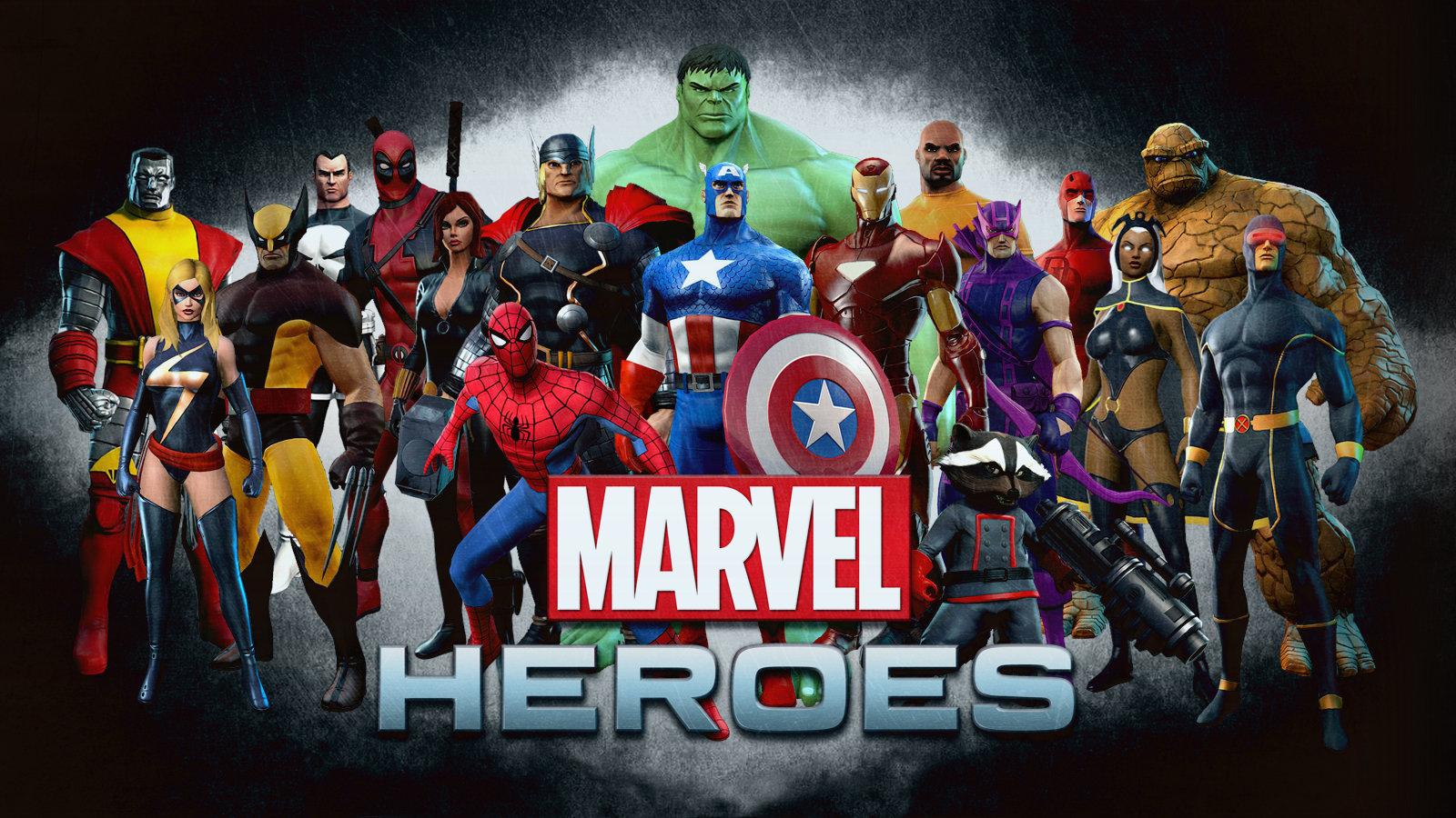 Marvel Heroes Wallpapers Hd For Desktop Backgrounds