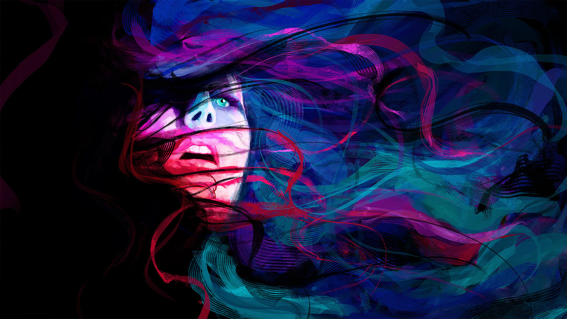 cool girls art wallpaper full hd 1920x1080 356168