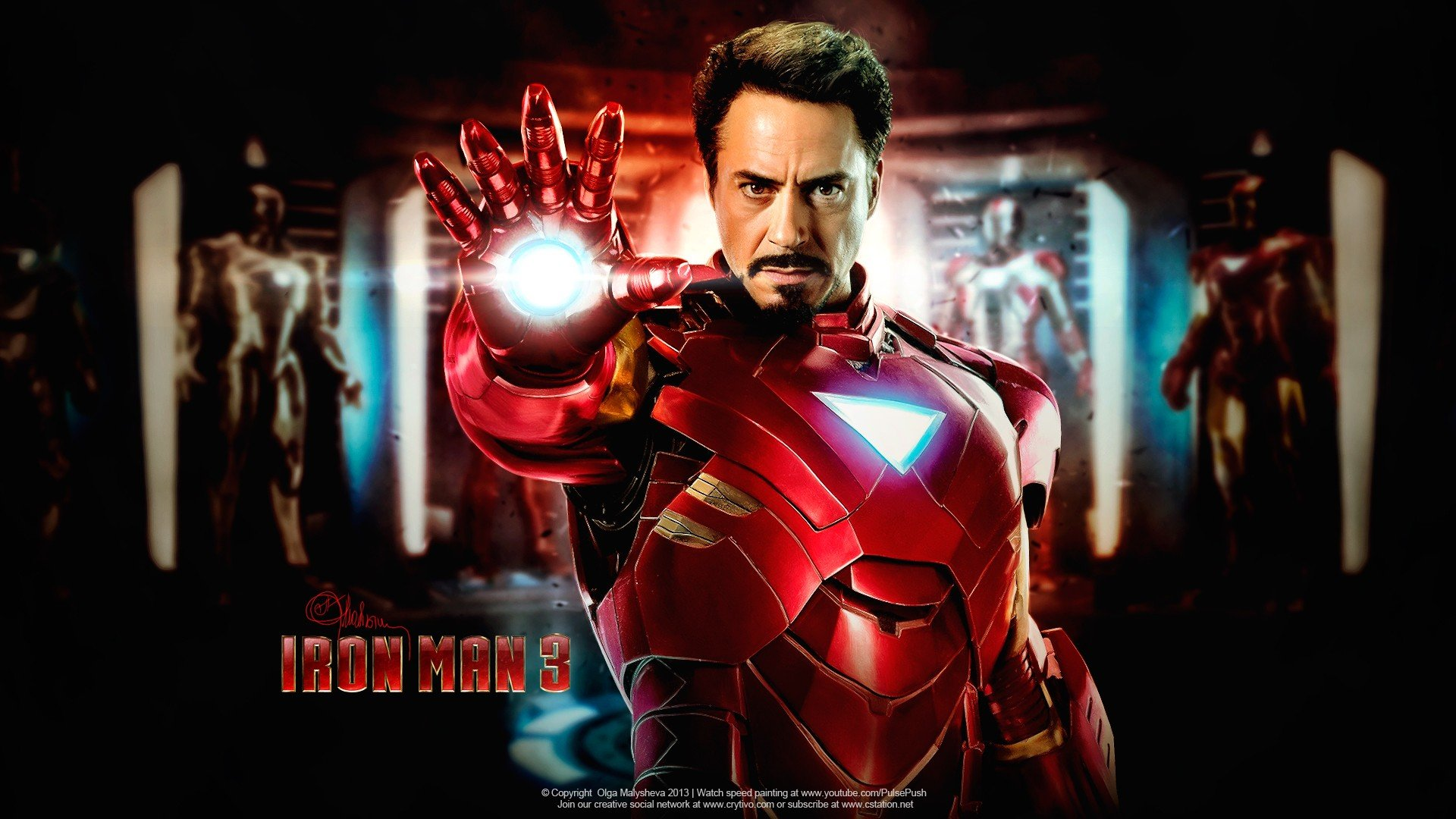 iron man 3 wallpapers hd for desktop backgrounds