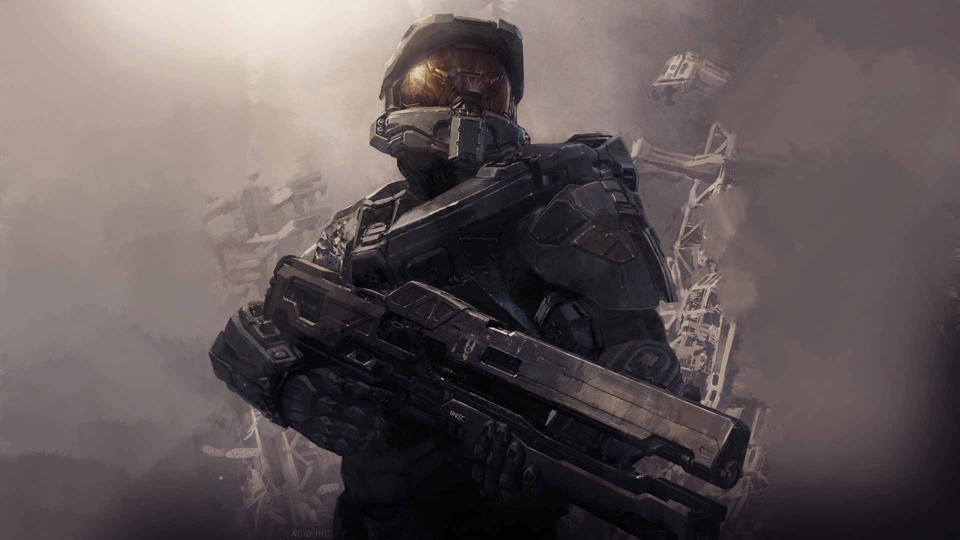 Halo 4 wallpapers hd for desktop backgrounds halo 4 backgrounds hd for desktop voltagebd Image collections