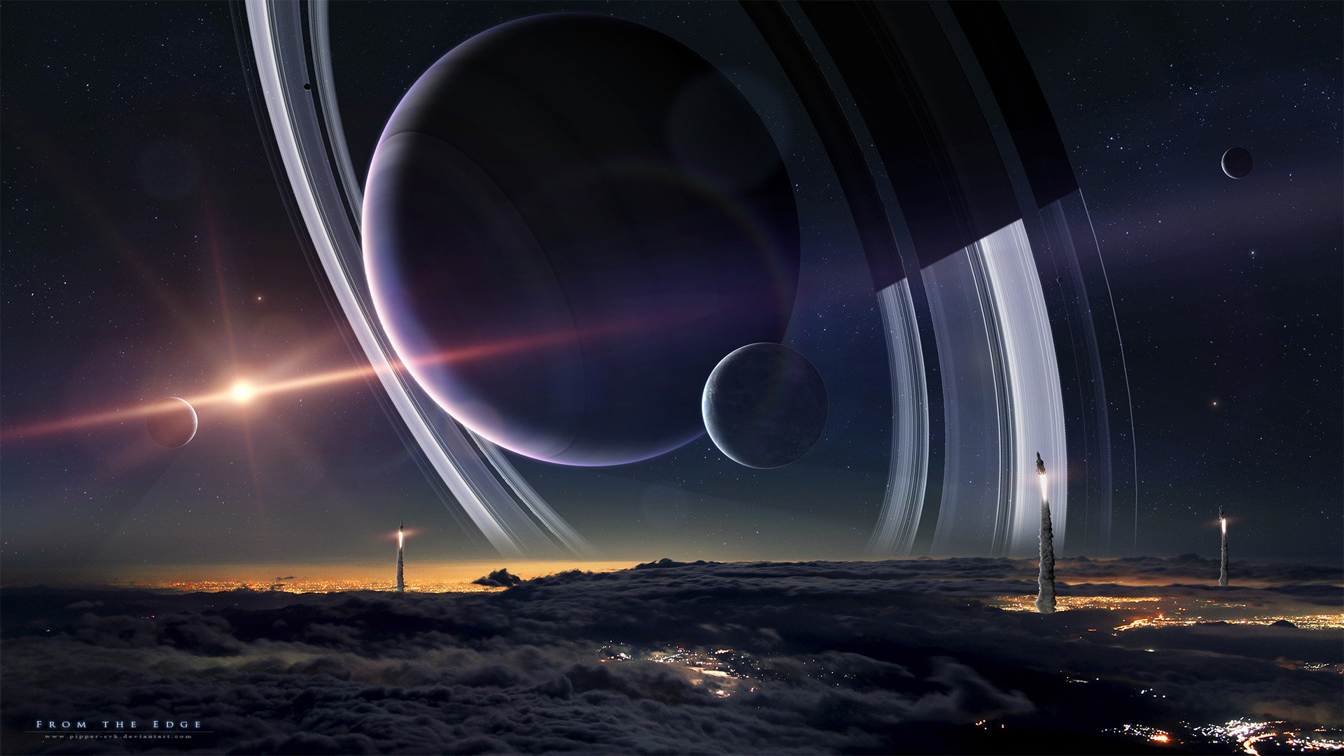 Best Planetary Ring background ID:256478 for High Resolution hd 1920x1080 desktop