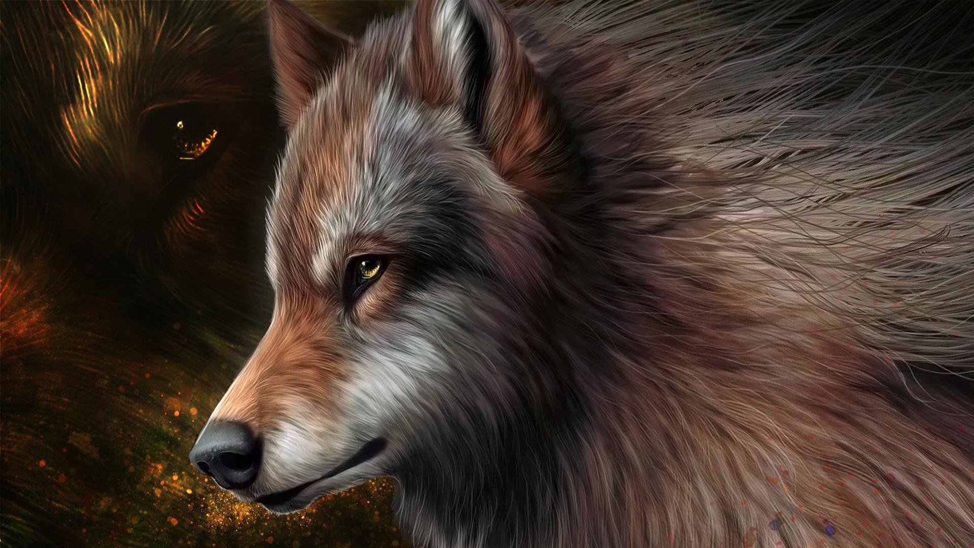 Download 1080p Wolf PC wallpaper ID:117954 for free