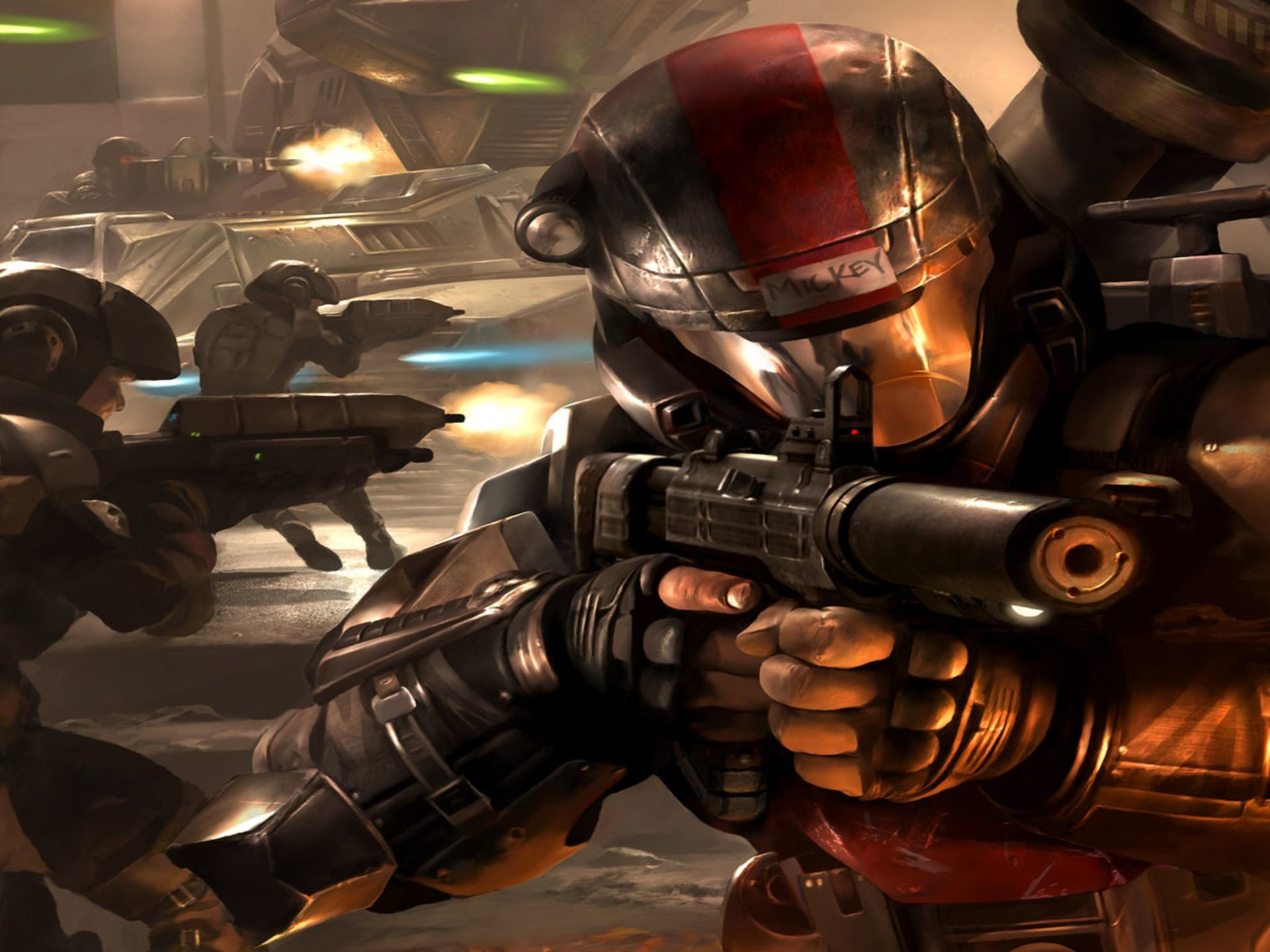 Halo 3 Odst Wallpapers Hd For Desktop Backgrounds