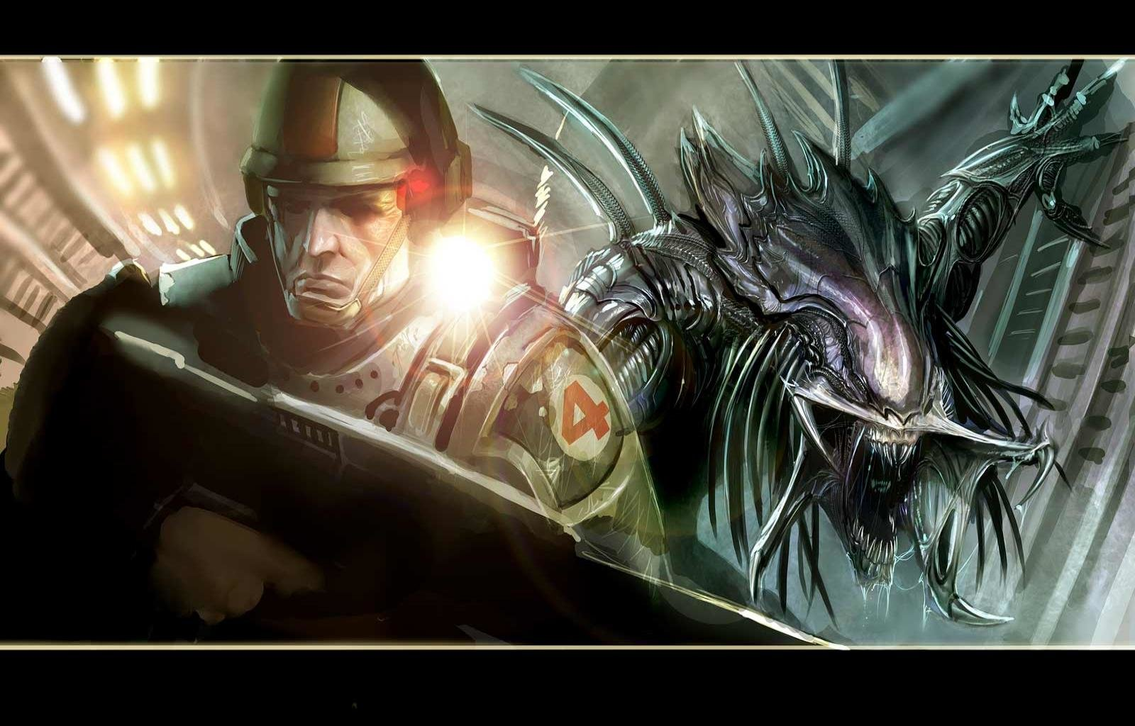 aliens colonial marines wallpapers hd for desktop backgrounds