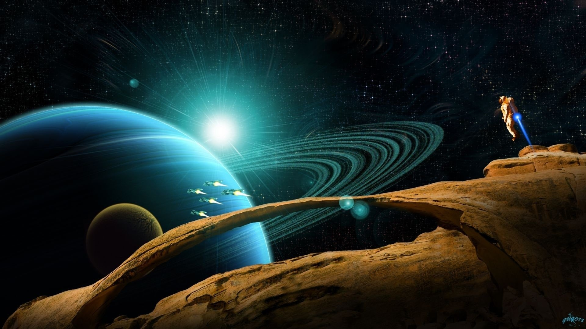 Awesome Planetary Ring free wallpaper ID:256527 for full hd desktop
