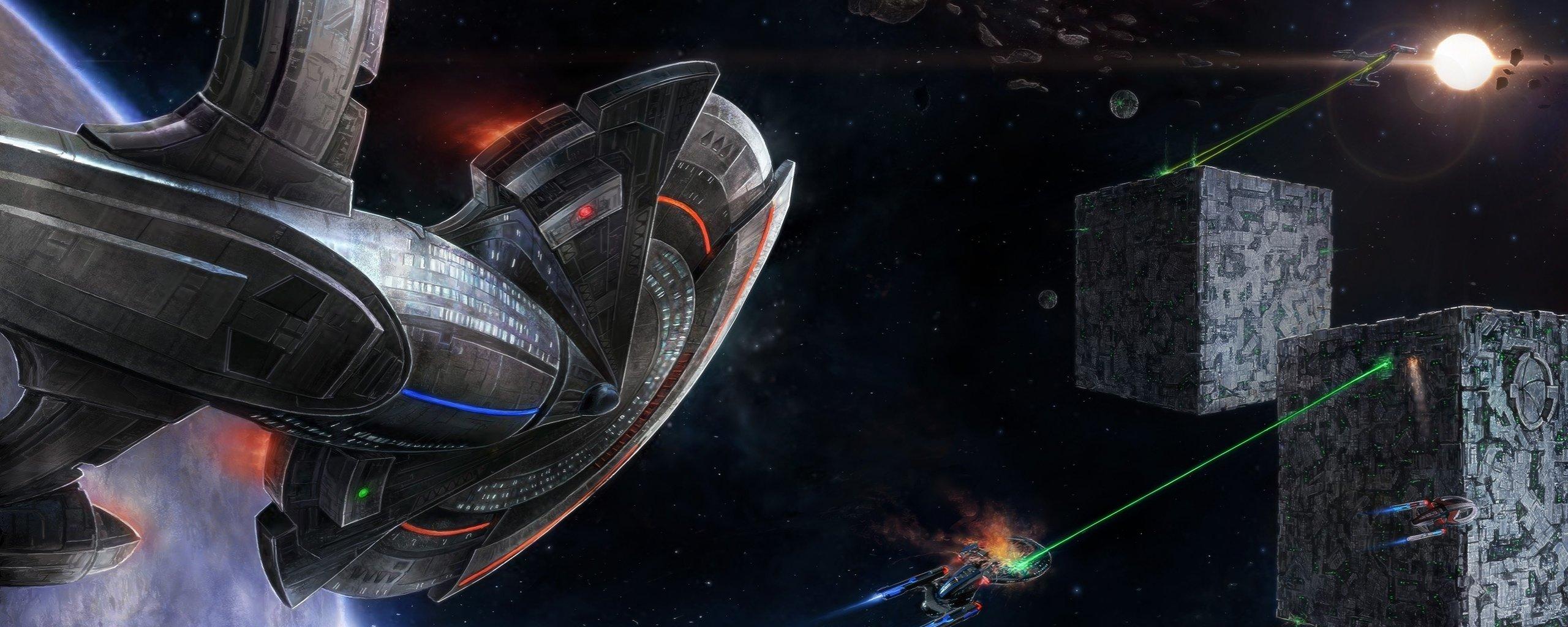 Awesome Star Trek Video Game Free Wallpaper ID276311 For Dual Screen 2560x1024 Desktop