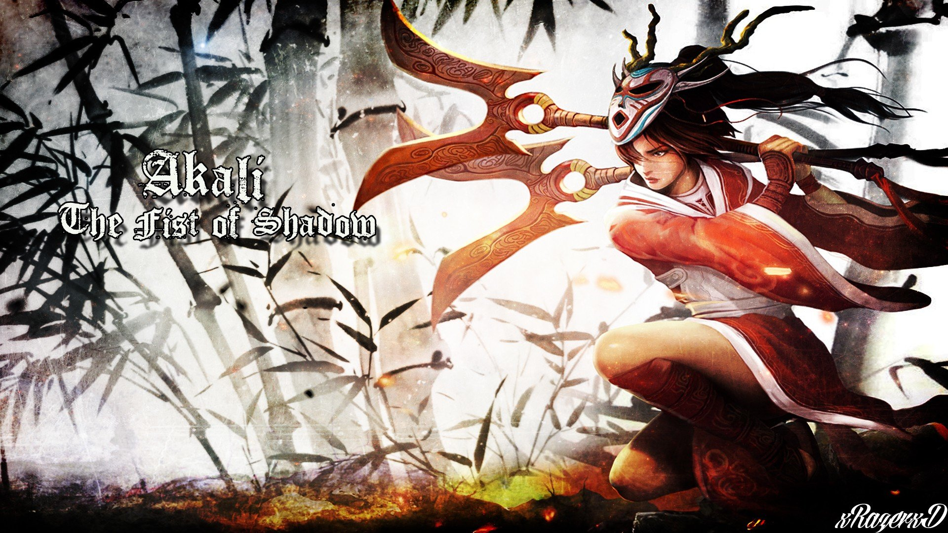 Akali League Of Legends Wallpapers 1920x1080 Full Hd 1080p