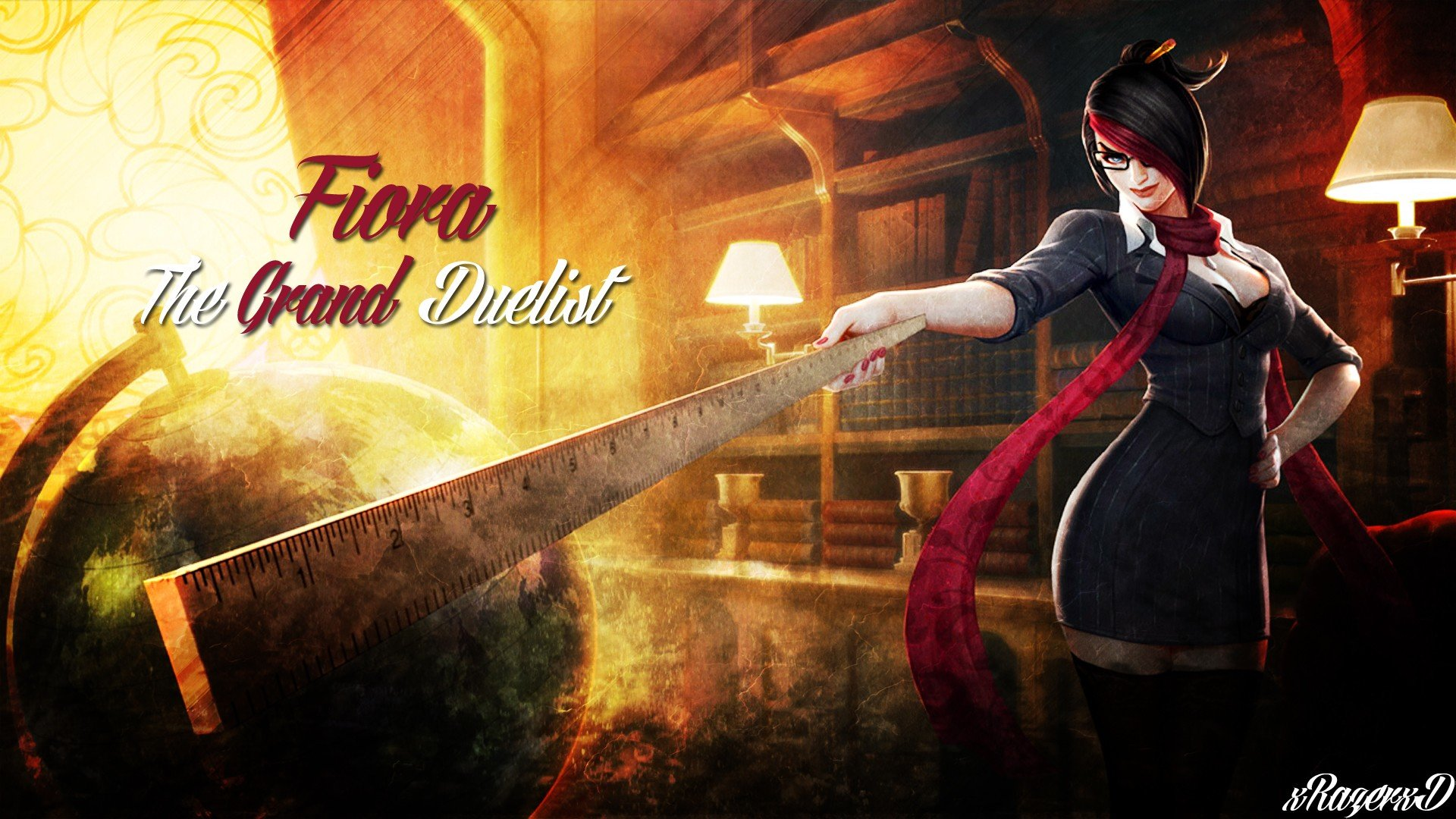 download full hd 1080p fiora (league of legends) pc background id
