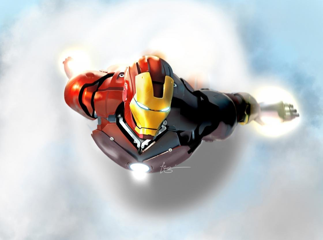 Awesome Iron Man free wallpaper ID:108 for hd 1120x832 PC