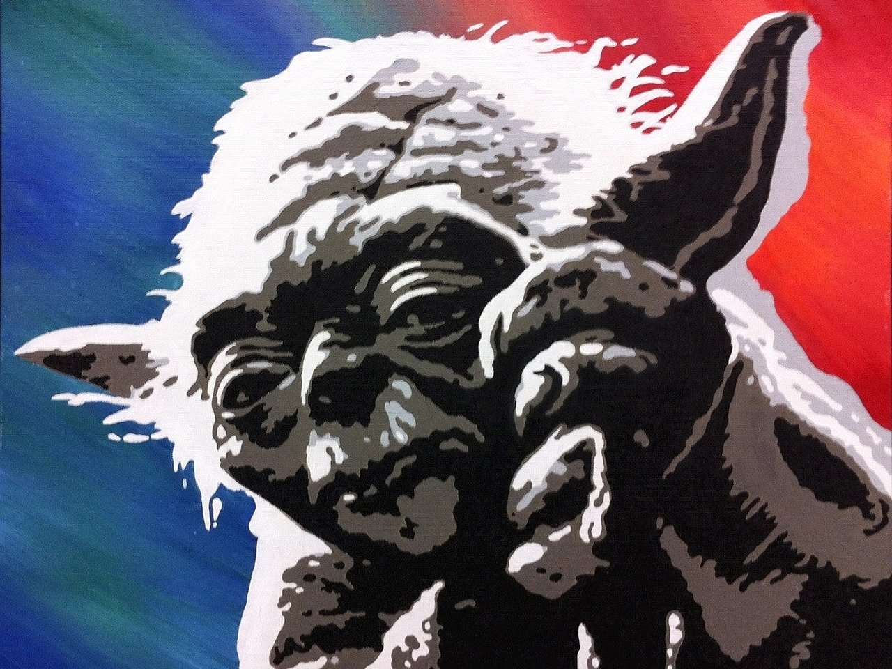 Awesome Yoda free background ID:458900 for hd 1280x960 computer