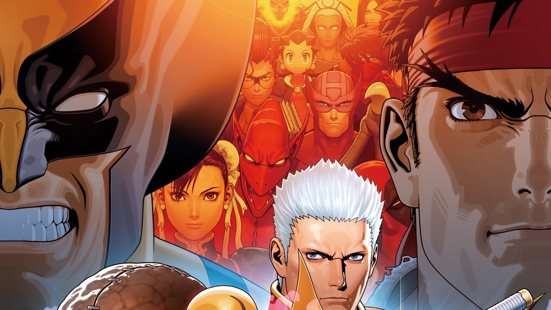 High Resolution Ultimate Marvel Vs Capcom 3 Full Hd 1080p Wallpaper