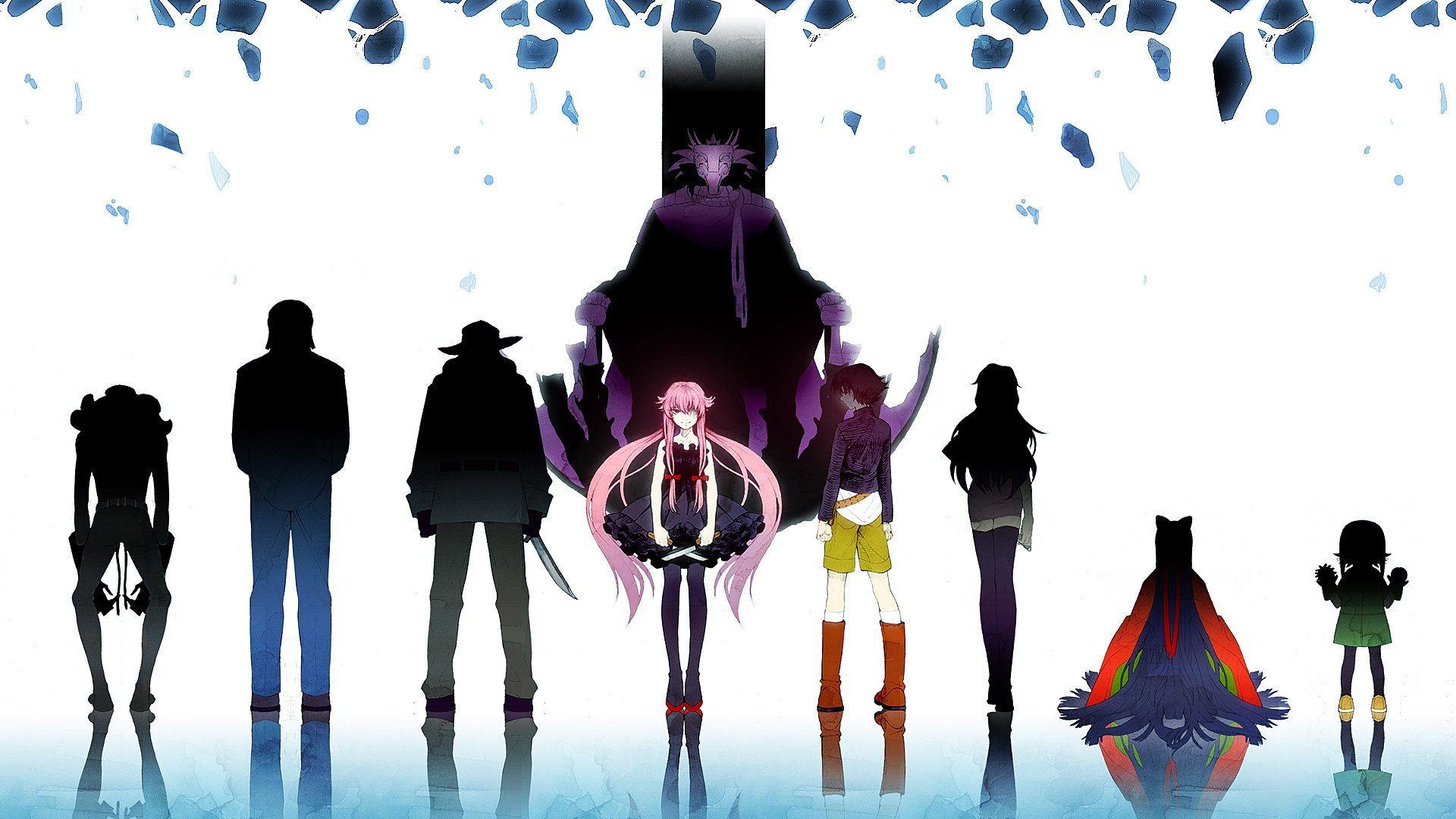 Awesome Mirai Nikki free background ID:189889 for full hd 1920x1080 computer